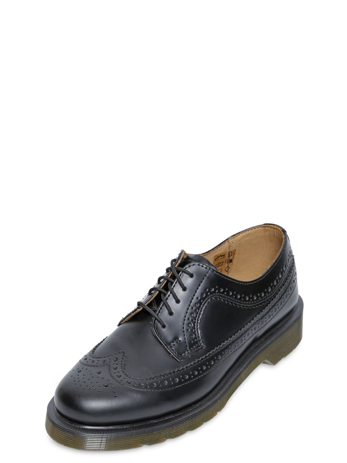 Lyst Dr Martens 3989 Brogue Leather Derby Lace Up Shoes