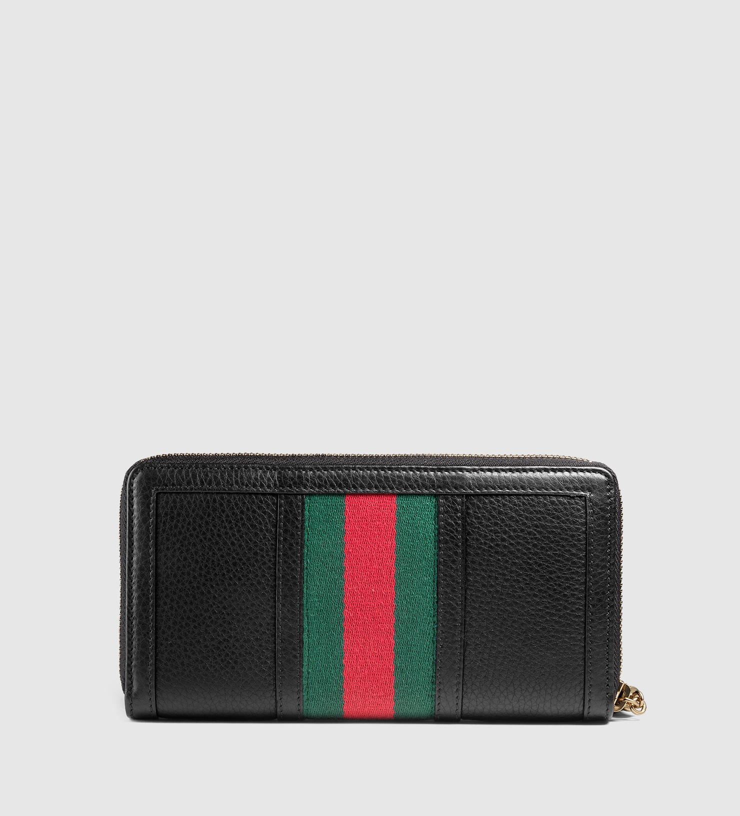 0706fd3bd386 Gucci Rania Leather Zip Around Wallet - Lyst