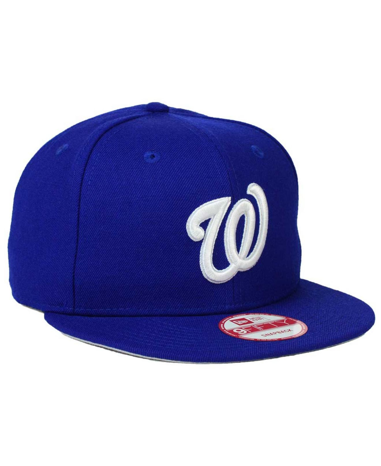 best authentic b7f79 123e4 ... spain lyst ktz washington nationals c dub 9fifty snapback cap in blue  dabbf 05c9b