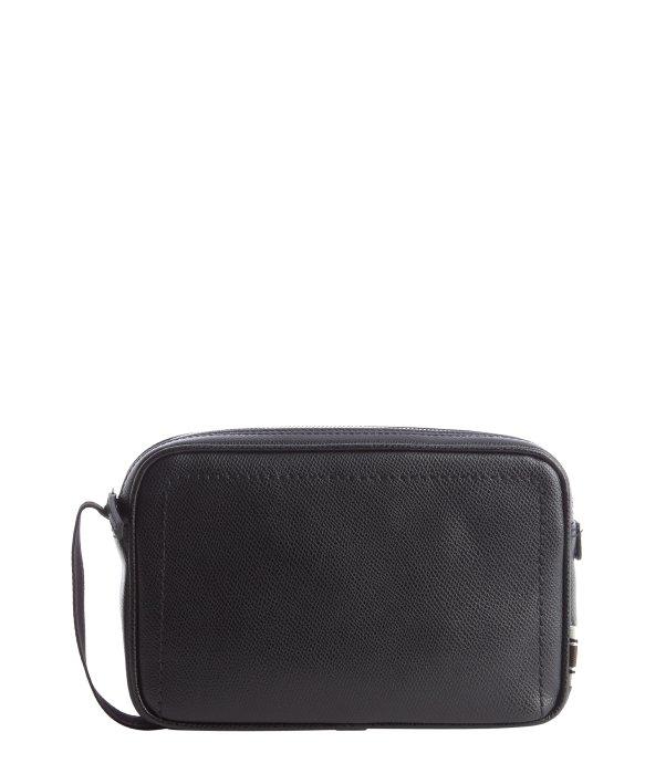 Ferragamo Black Leather Dopp Kit in Black for Men - Lyst 1d8ea892a3443
