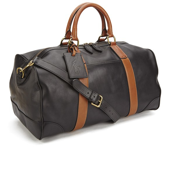 ad6073cbe87d ... italy polo ralph lauren mens duffle bag in black for men lyst e2fc0  71b67