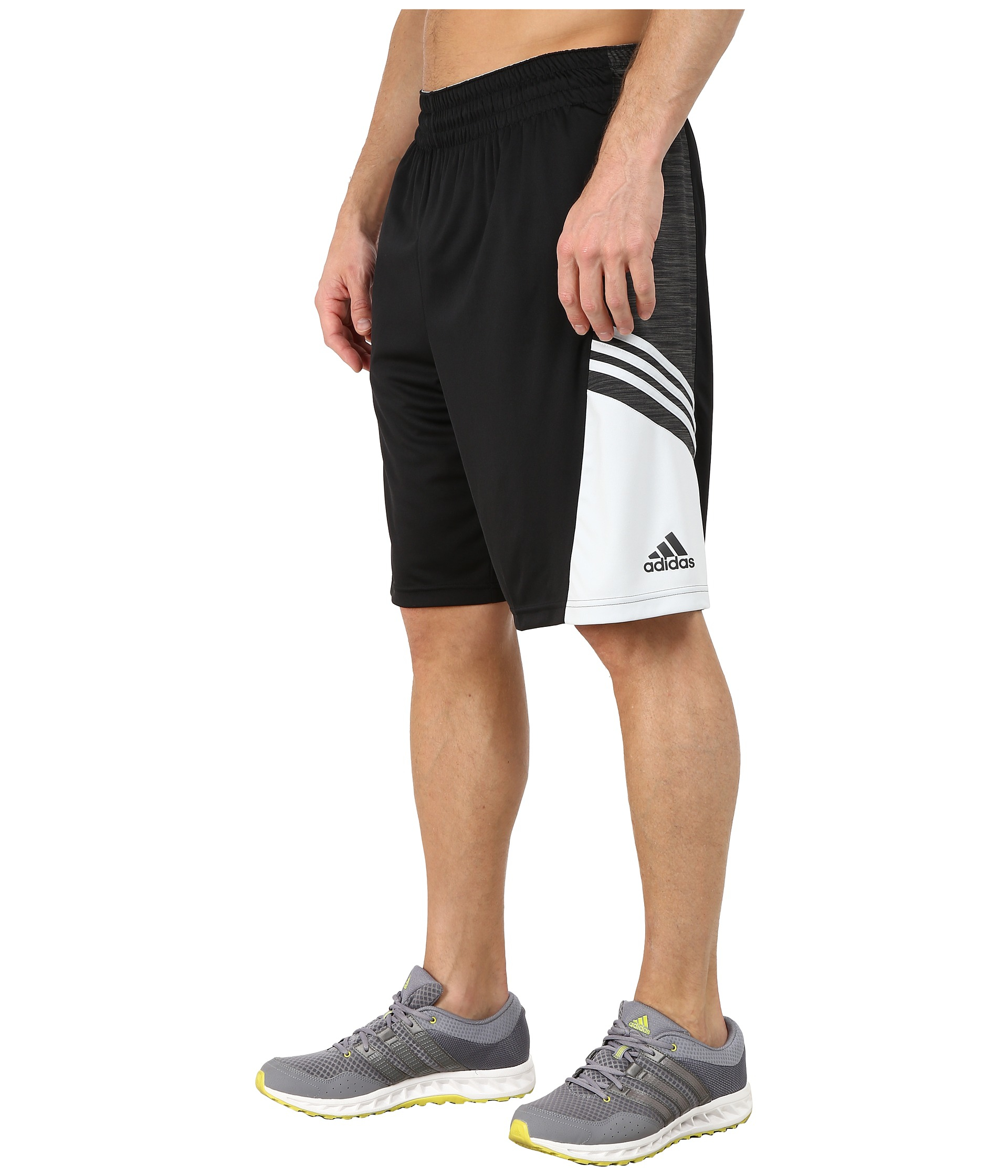 adidas team speed performance basketball shorts