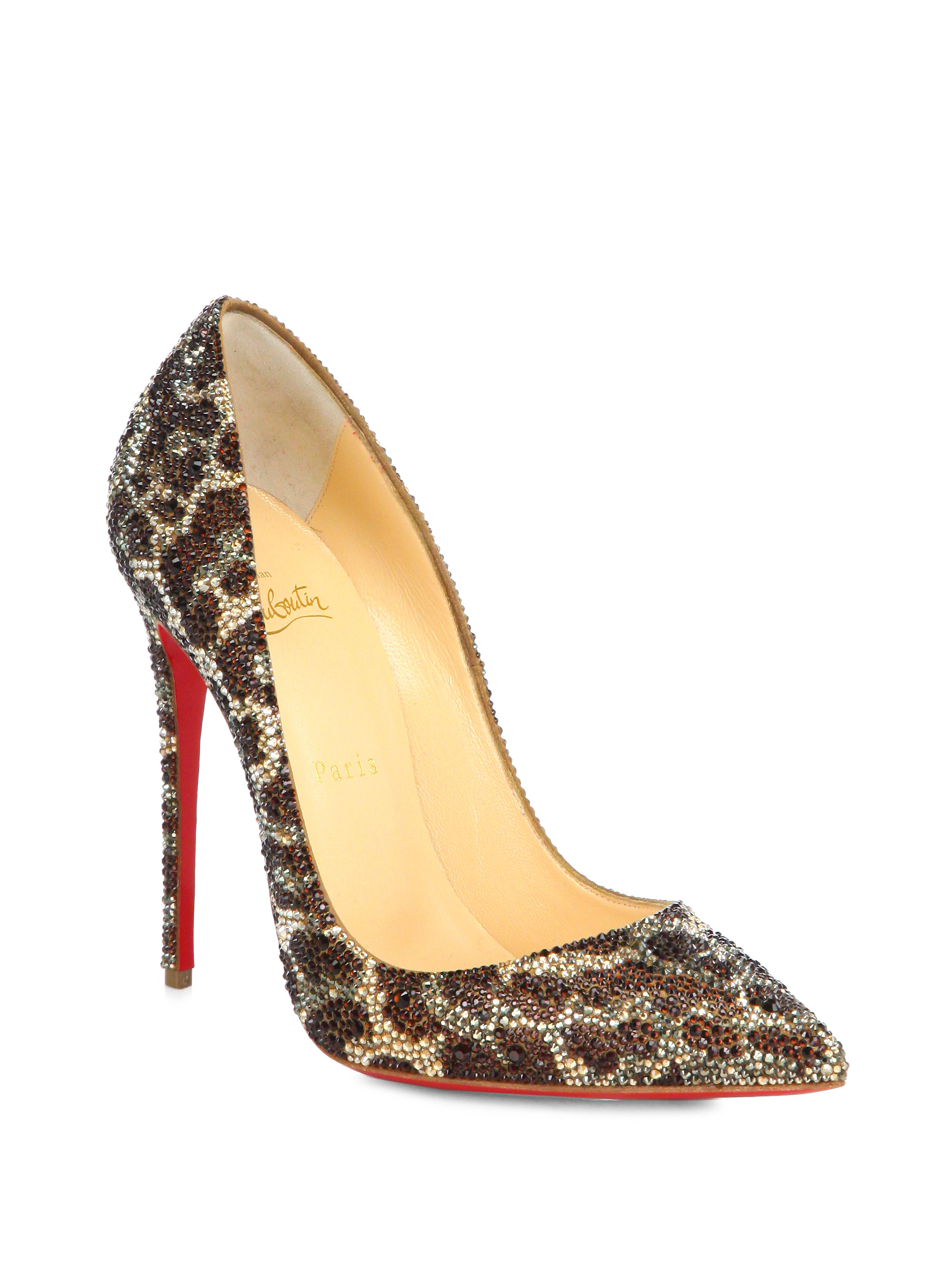c4b49ae4b53 Gallery. Previously sold at  Saks Fifth Avenue · Women s Christian  Louboutin So Kate ...