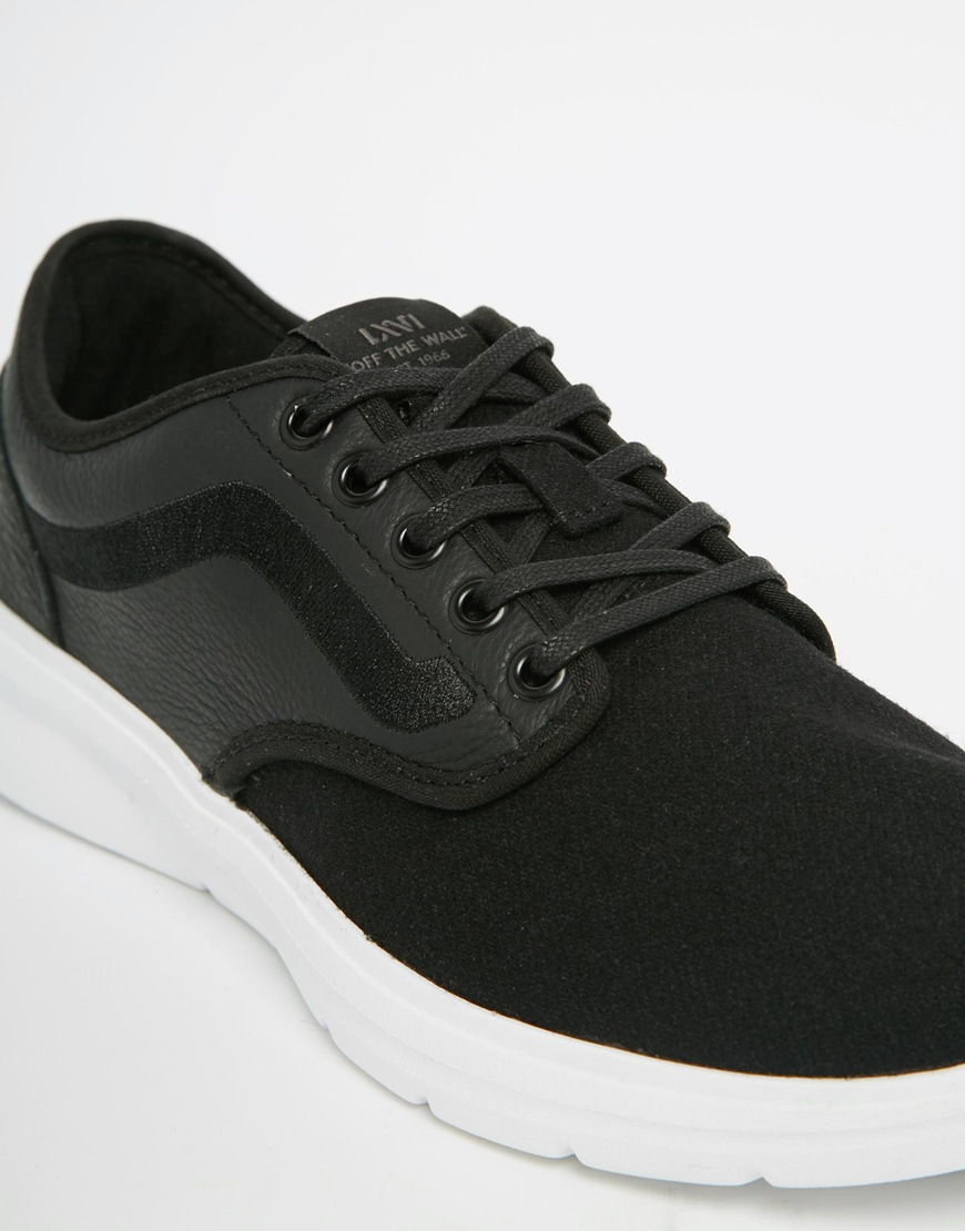 8ce2deb4aac6e0 Vans Lxvi Iso 2 Trainers - Black in Black for Men - Lyst