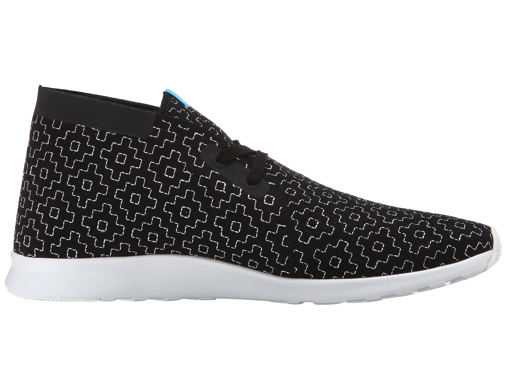 Native - Apollo Chukka Embroidered Black