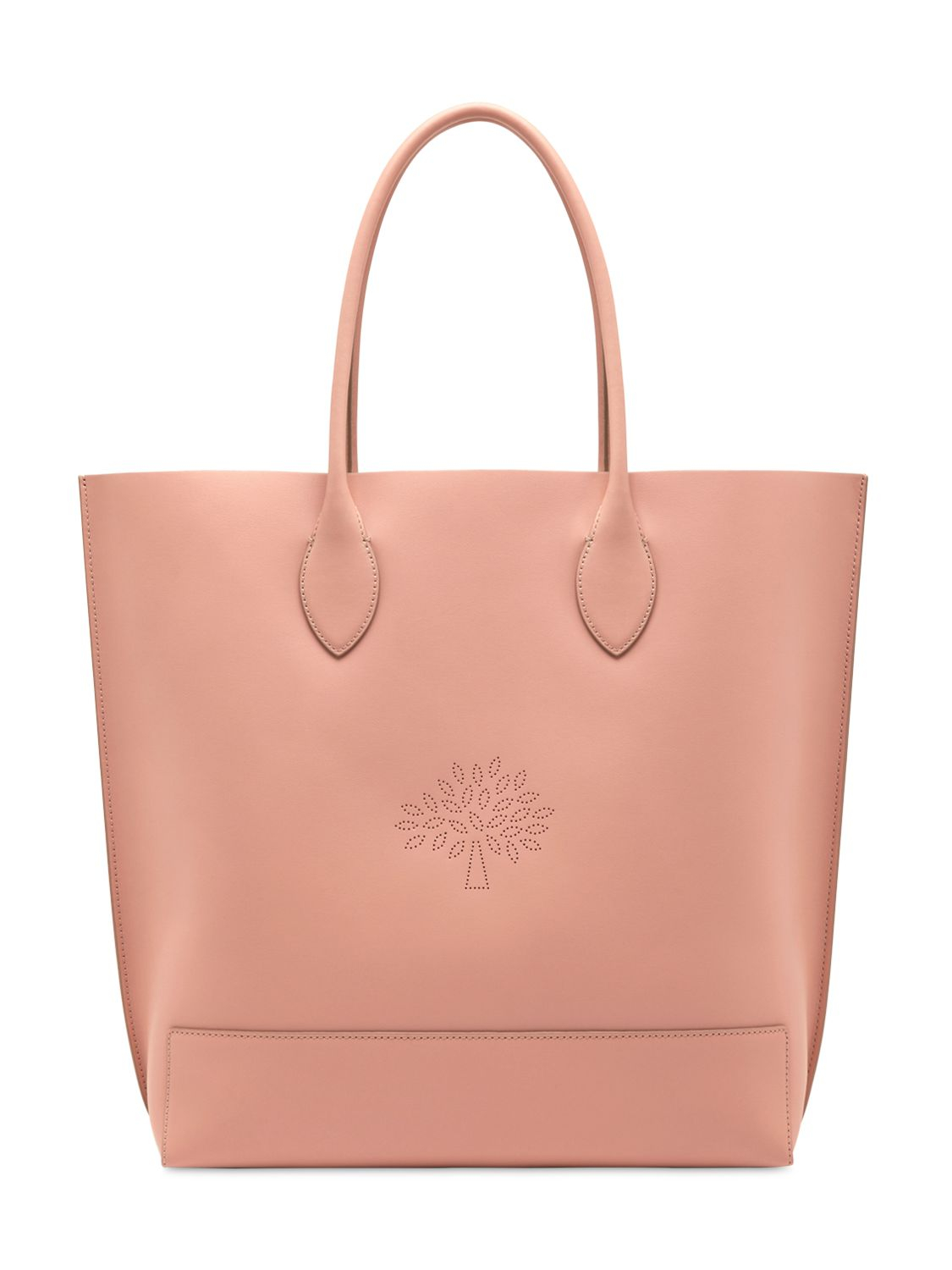 lyst mulberry blossom nappa leather tote bag in pink. Black Bedroom Furniture Sets. Home Design Ideas