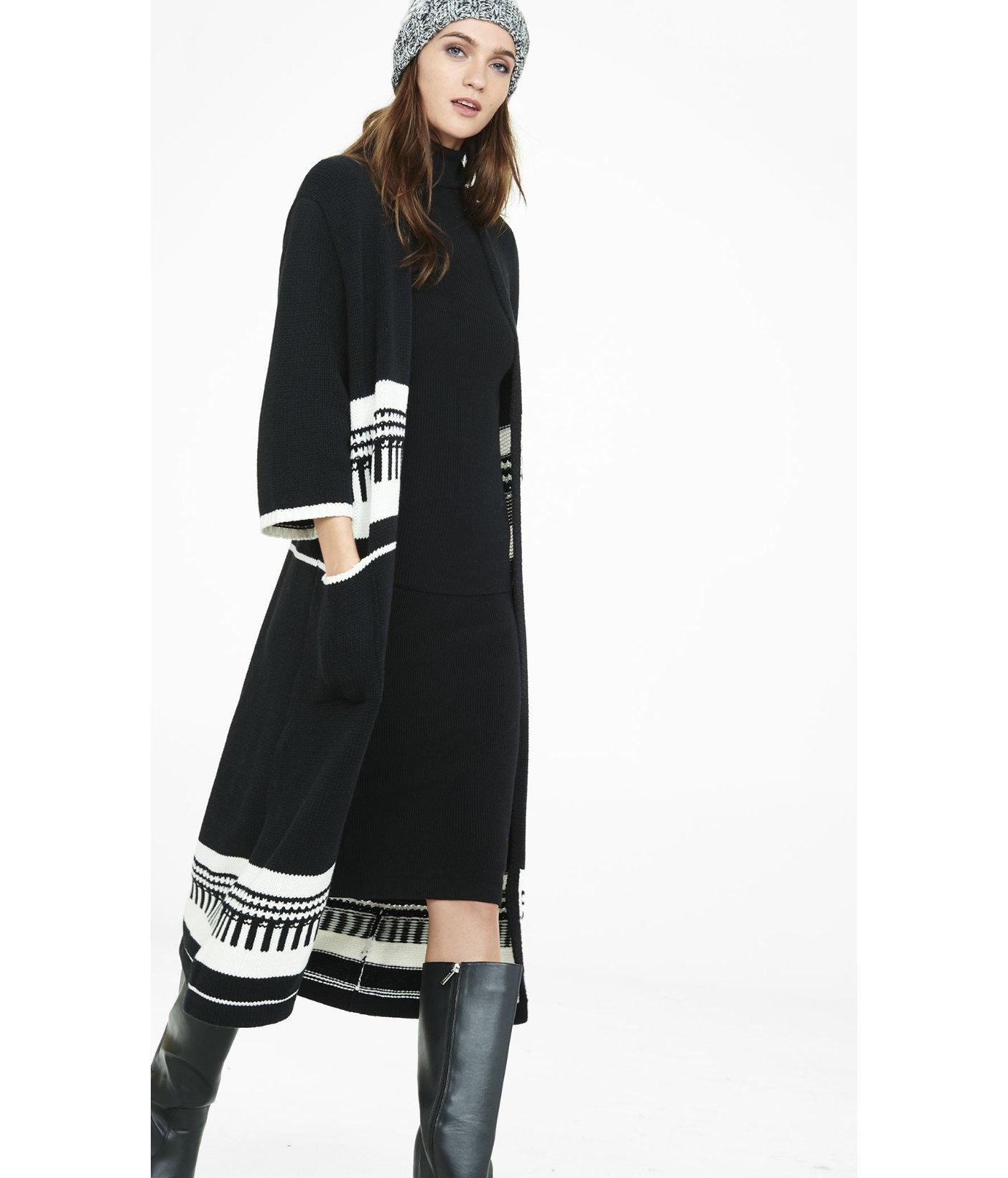 Express Sweater Coat   Down Coat