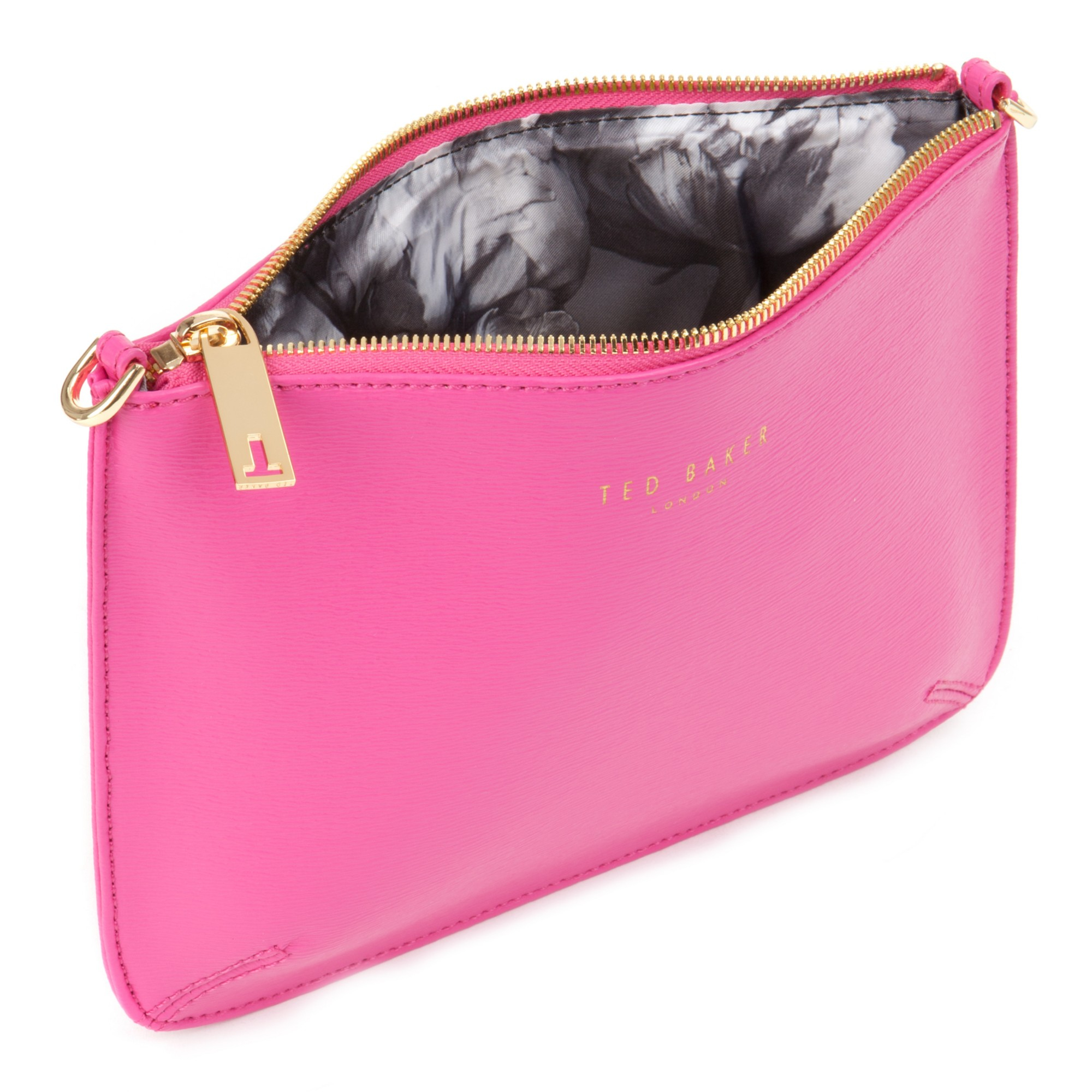 50070b560c1d Ted Baker Harley Chain Cross Body Bag in Pink - Lyst