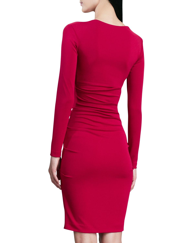 Nicole Miller Square Neck Dress