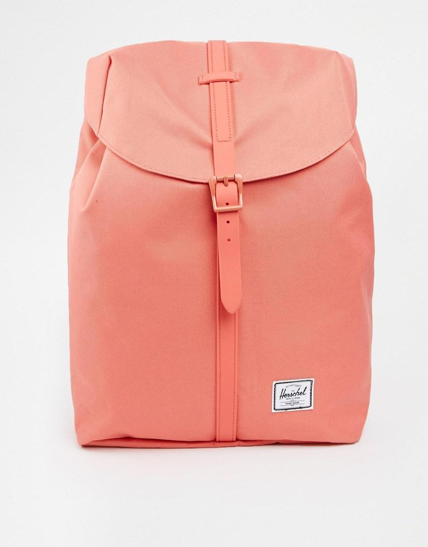 Lyst Herschel Supply Co Post Backpack In Flamingo Pink