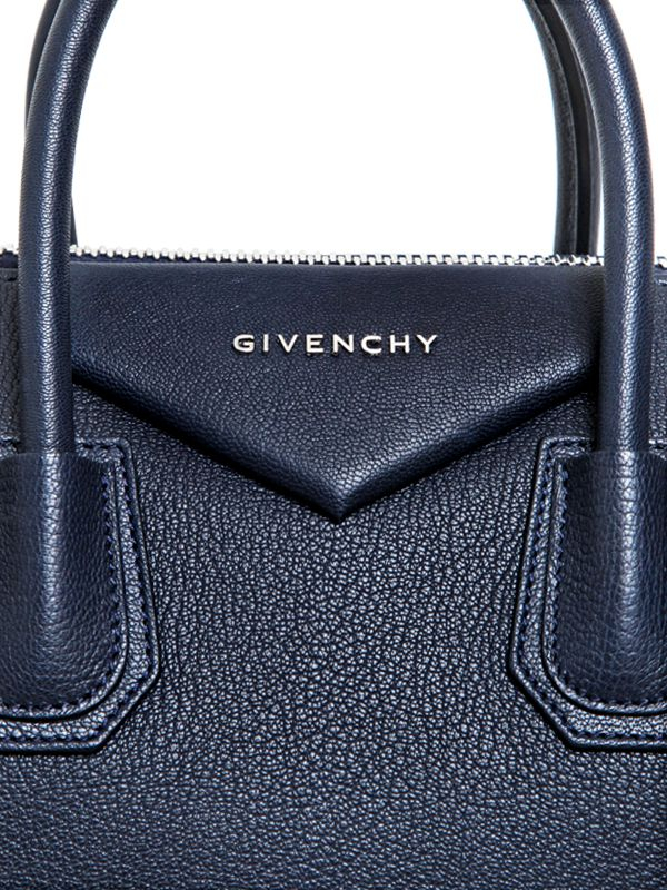67819a3c09 Lyst - Givenchy Medium Antigona Grained Leather Bag in Blue