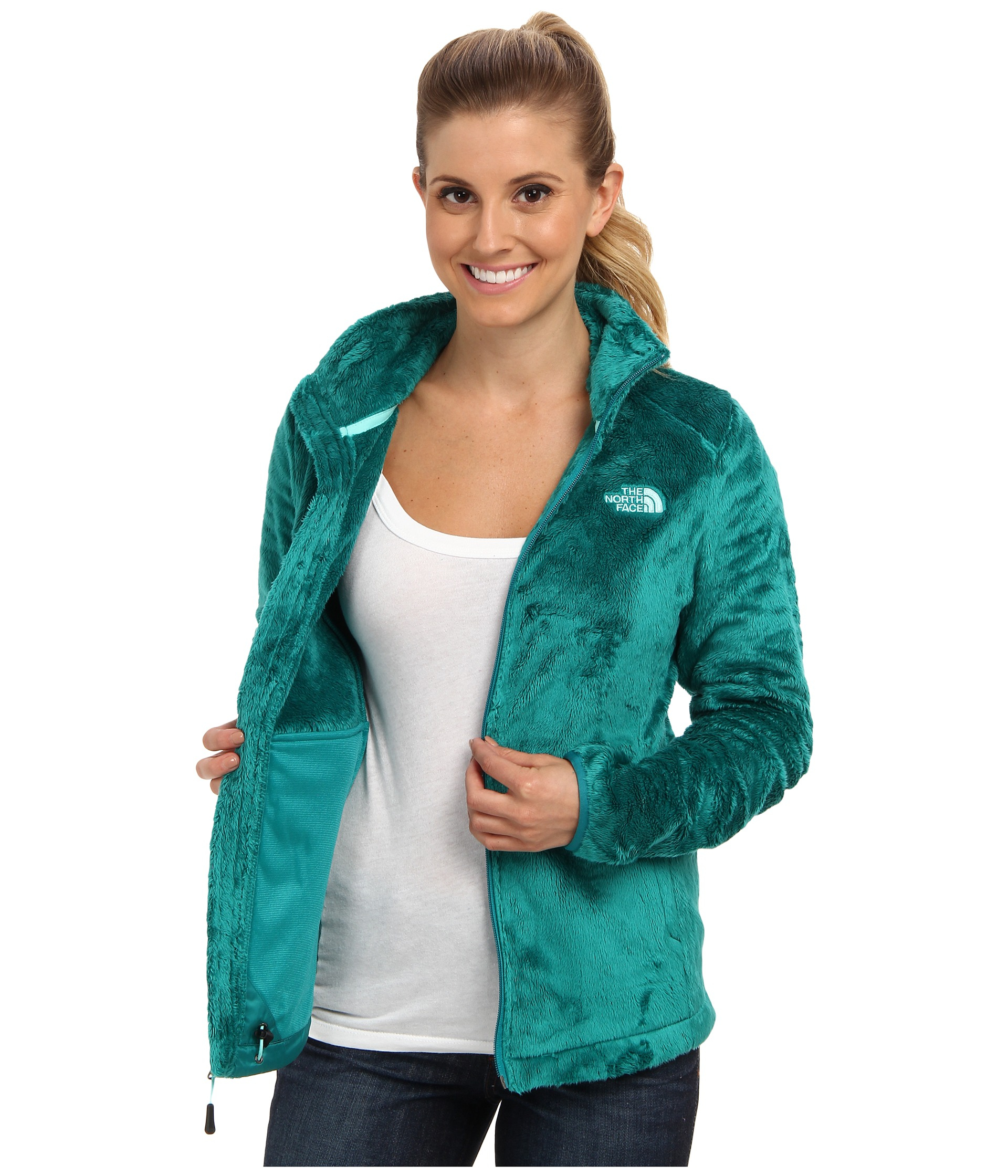 Lyst - The North Face Osito 2 Jacket in Green fabd1cf54