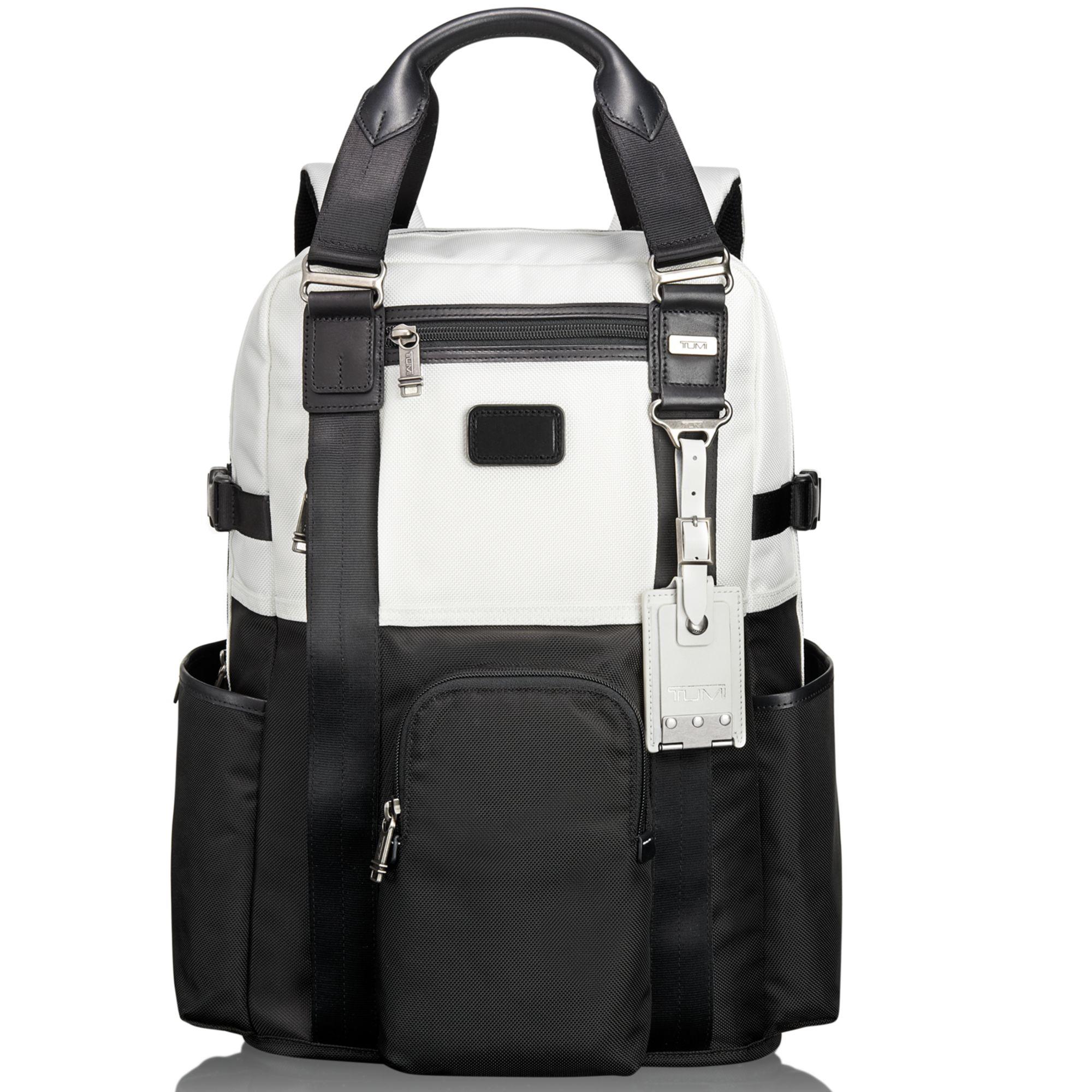 Lyst Tumi Alpha Bravo Lejeune Backpack Tote In Black For Men
