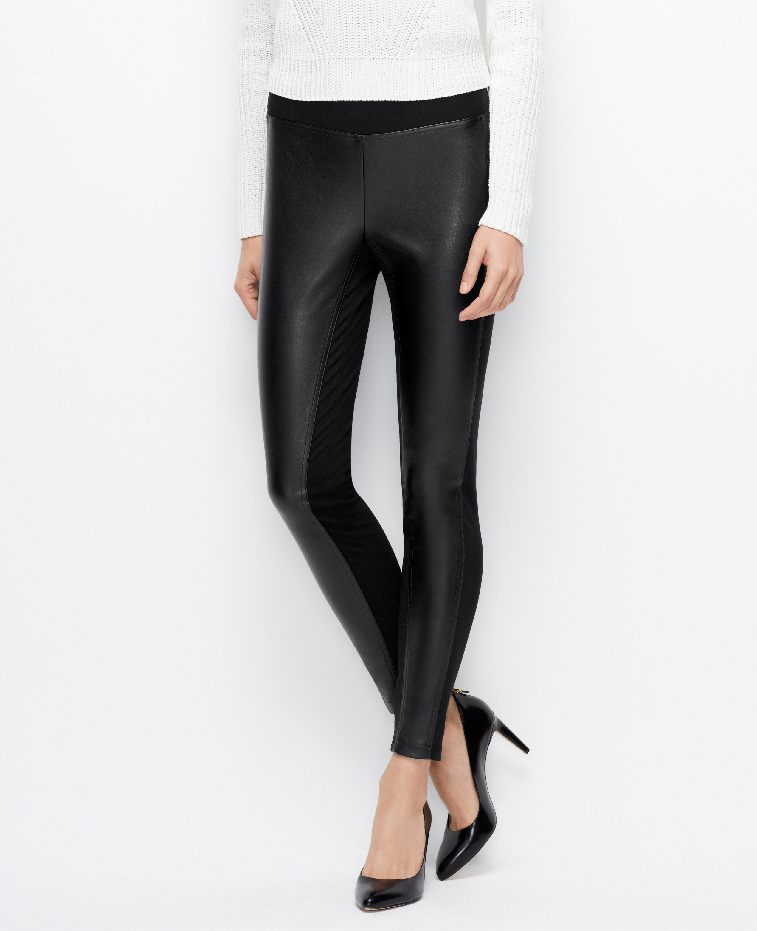 Tall Faux Leather Leggings