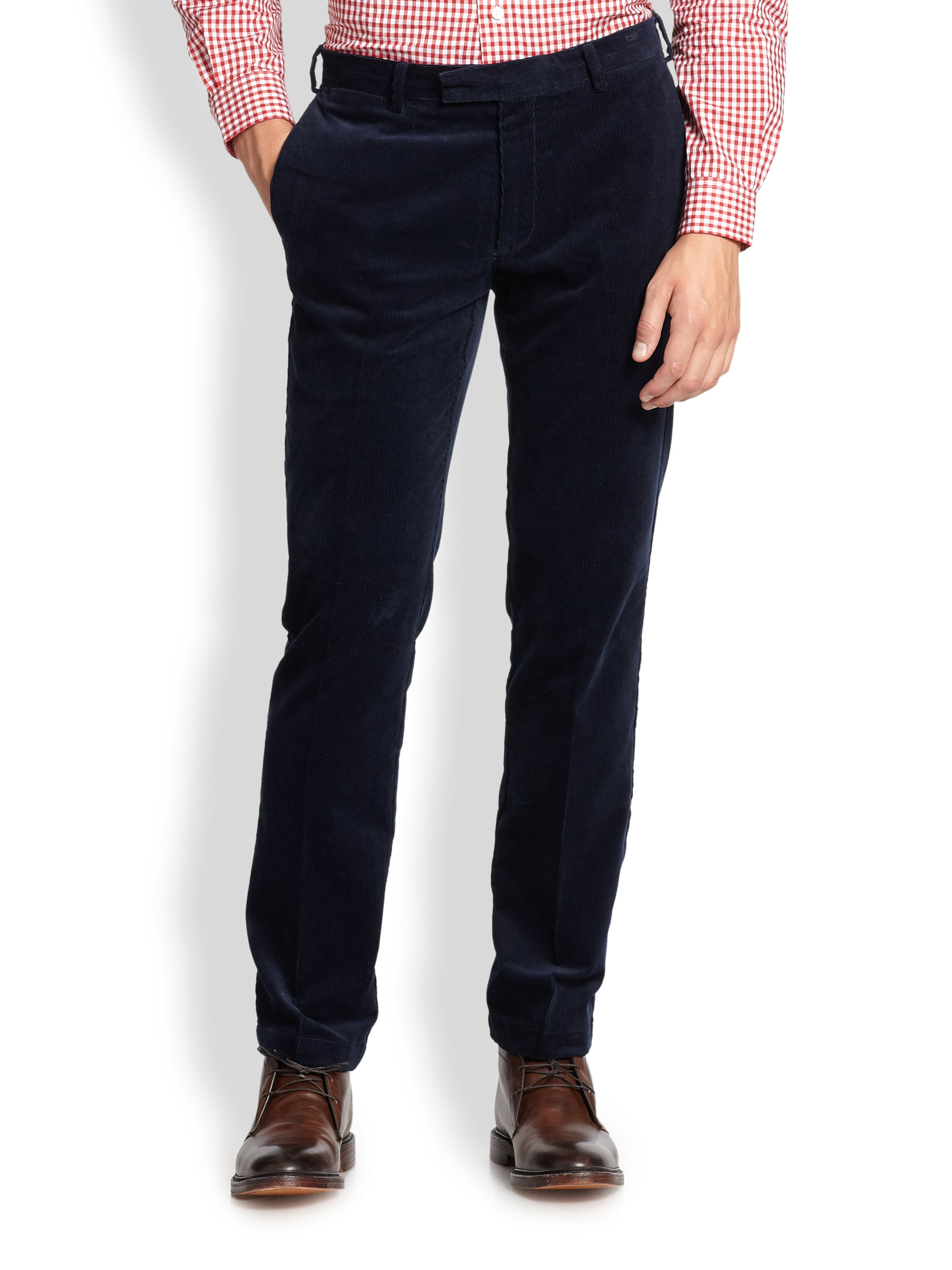 Lyst Polo Ralph Lauren Slim Fit Hudson Stretch Corduroy