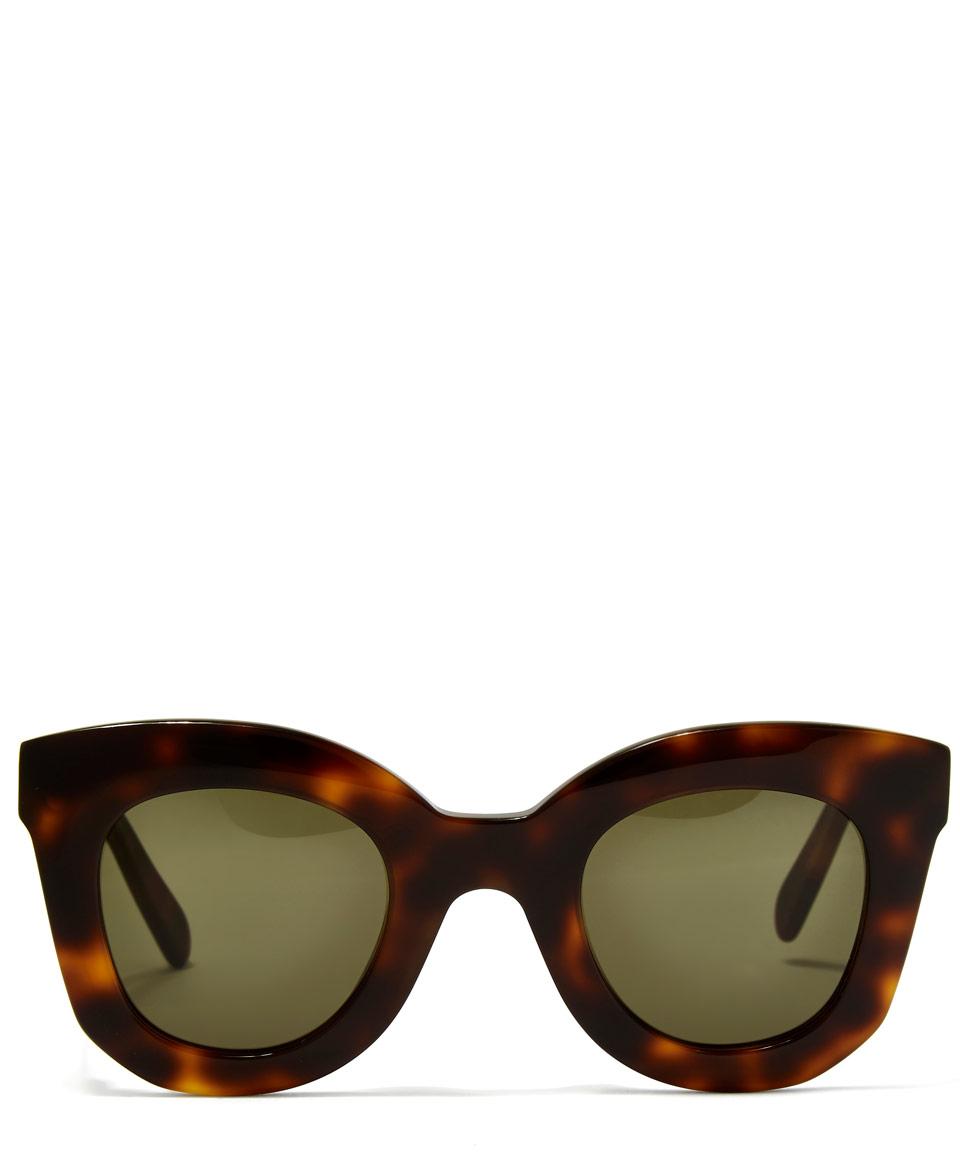 Small Lens Cat Eye Sunglasses