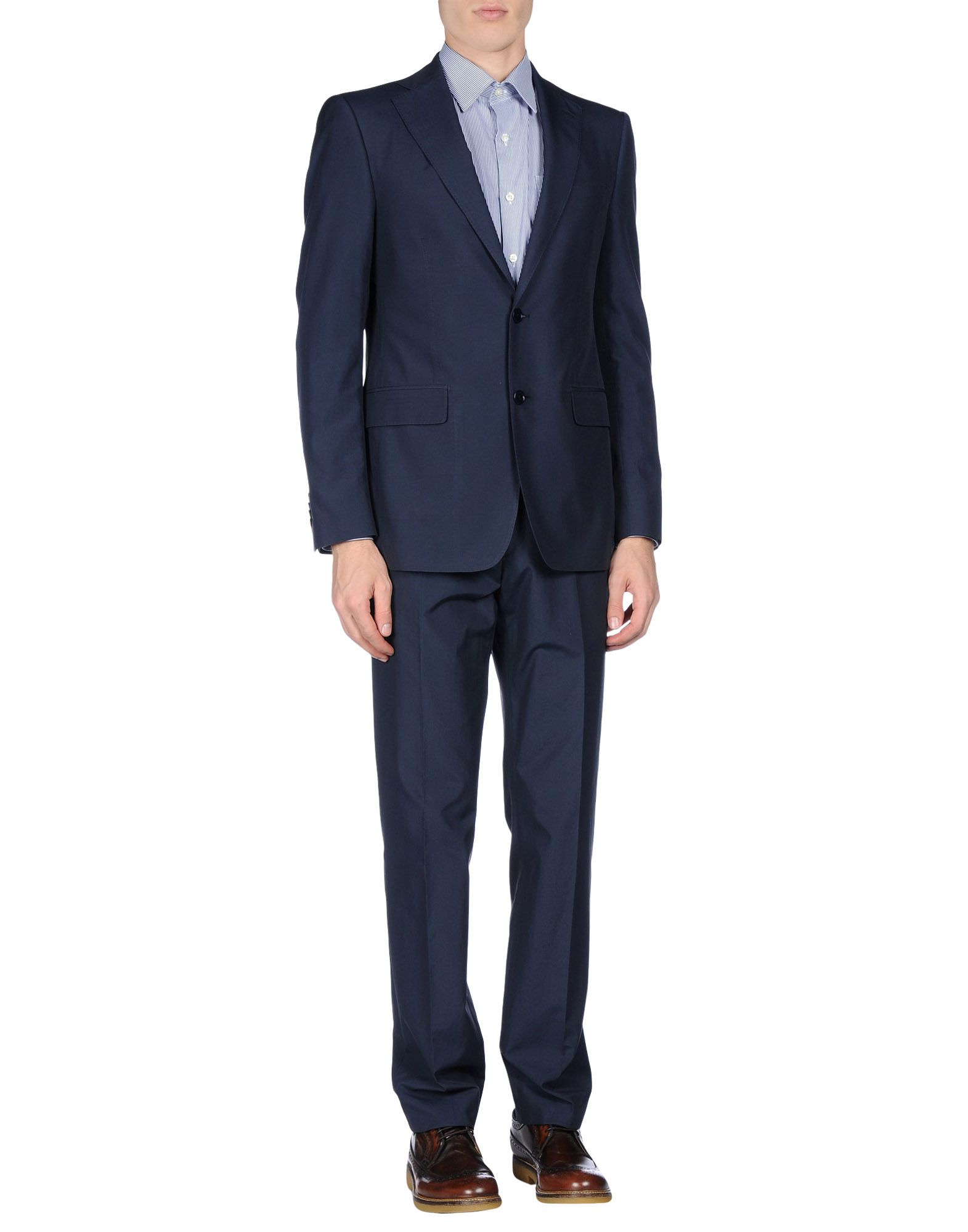 Ferragamo Suit in Blue for Men
