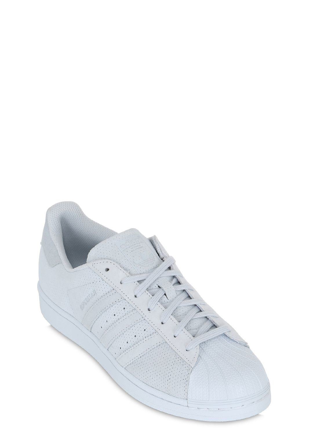 adidas Superstar White Onix Gold Metallic DTLR
