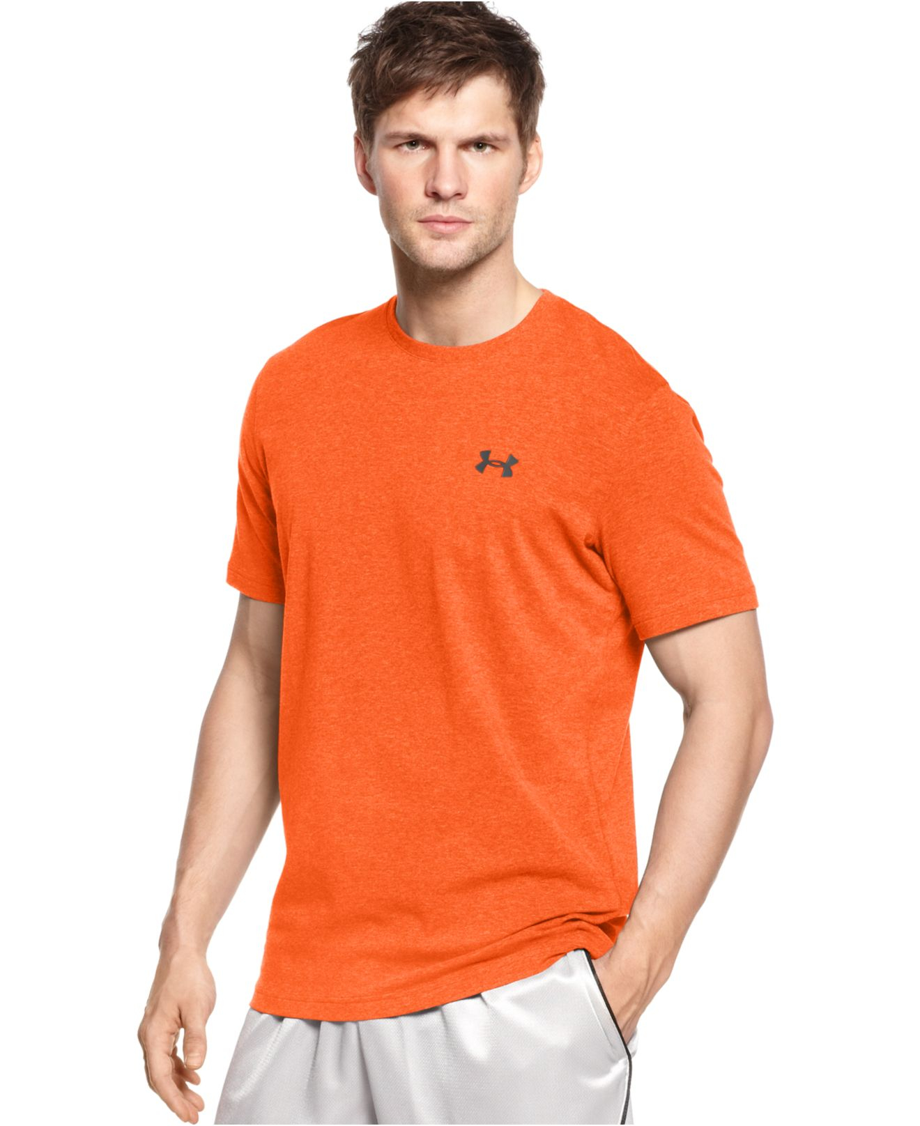 Under armour charged cotton short sleeve training t shirt for Under armour charged shirt