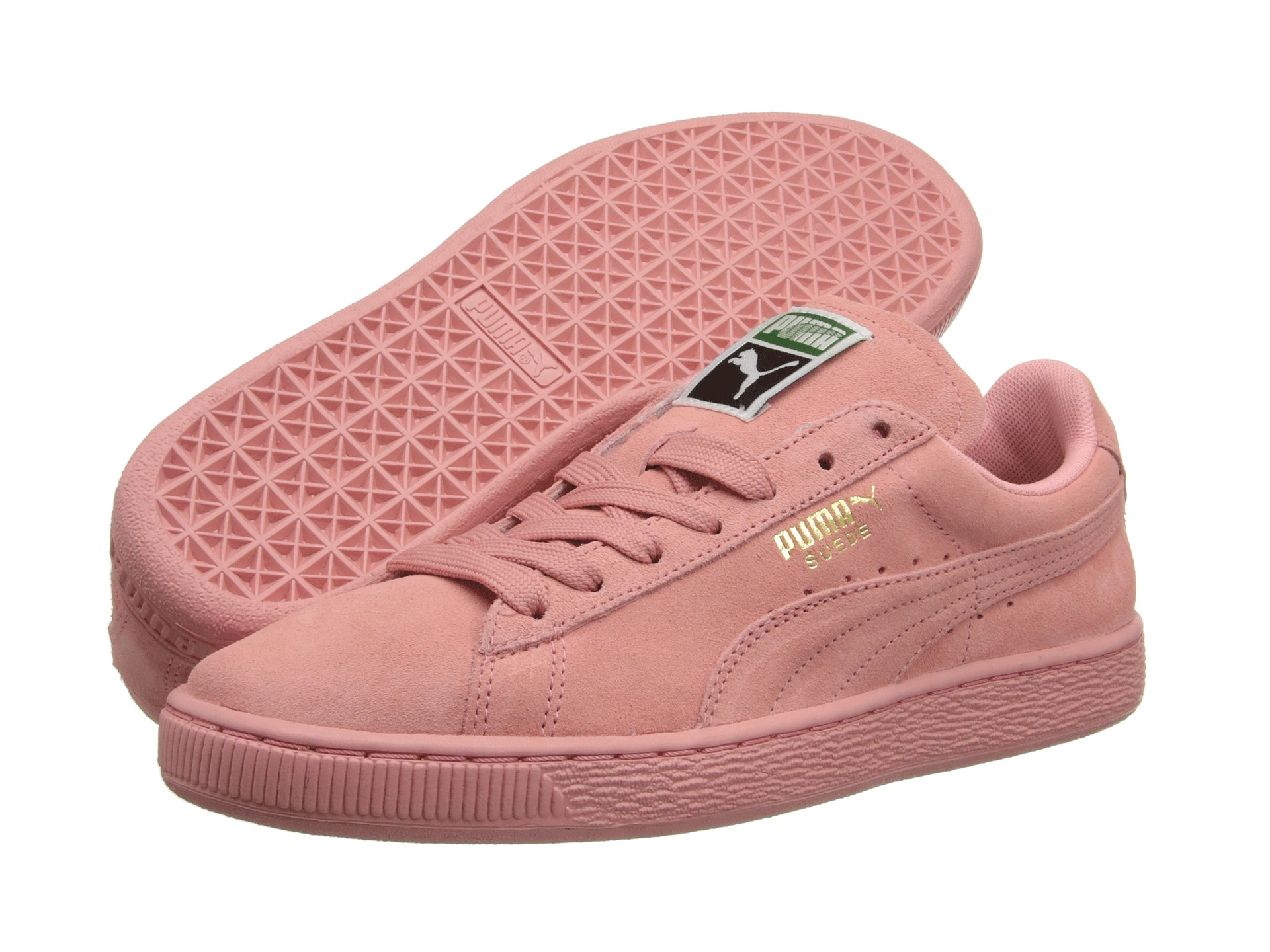 Lyst - PUMA Suede Classic Wns in Pink 9d8a739b9