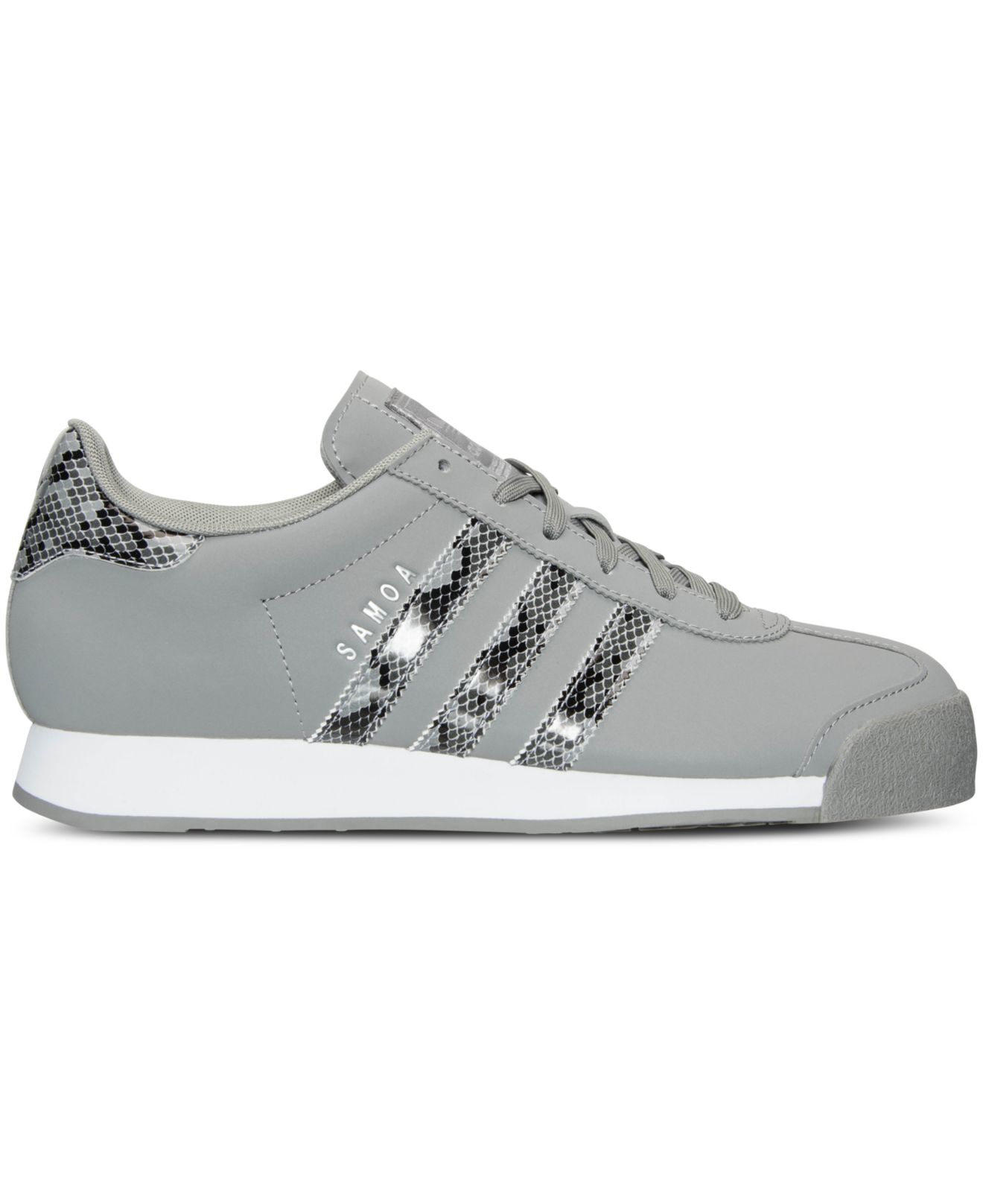 pretty nice 96d03 5a9fe adidas Originals Men s Samoa Reptile Casual Sneakers From Finish ...