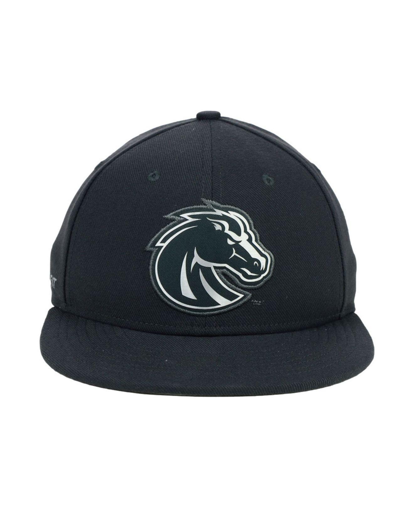 huge discount 7771f a8173 Nike Boise State Broncos True Platinum Swooshflex Cap in Gray for ...
