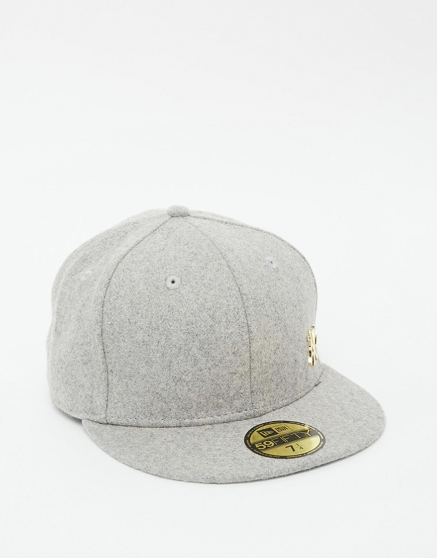 4335dd171a2de Lyst - KTZ 59fifty Ny Yankees Fitted Cap in Gray for Men