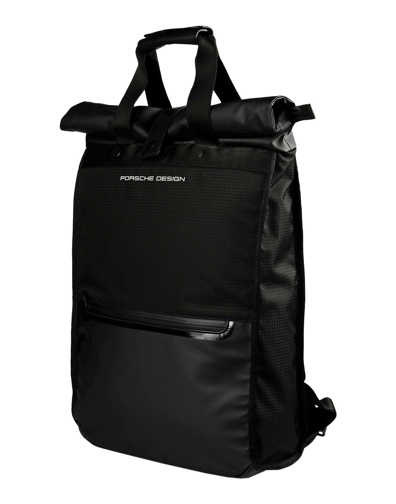 porsche design rucksacks bumbags in black for men lyst. Black Bedroom Furniture Sets. Home Design Ideas