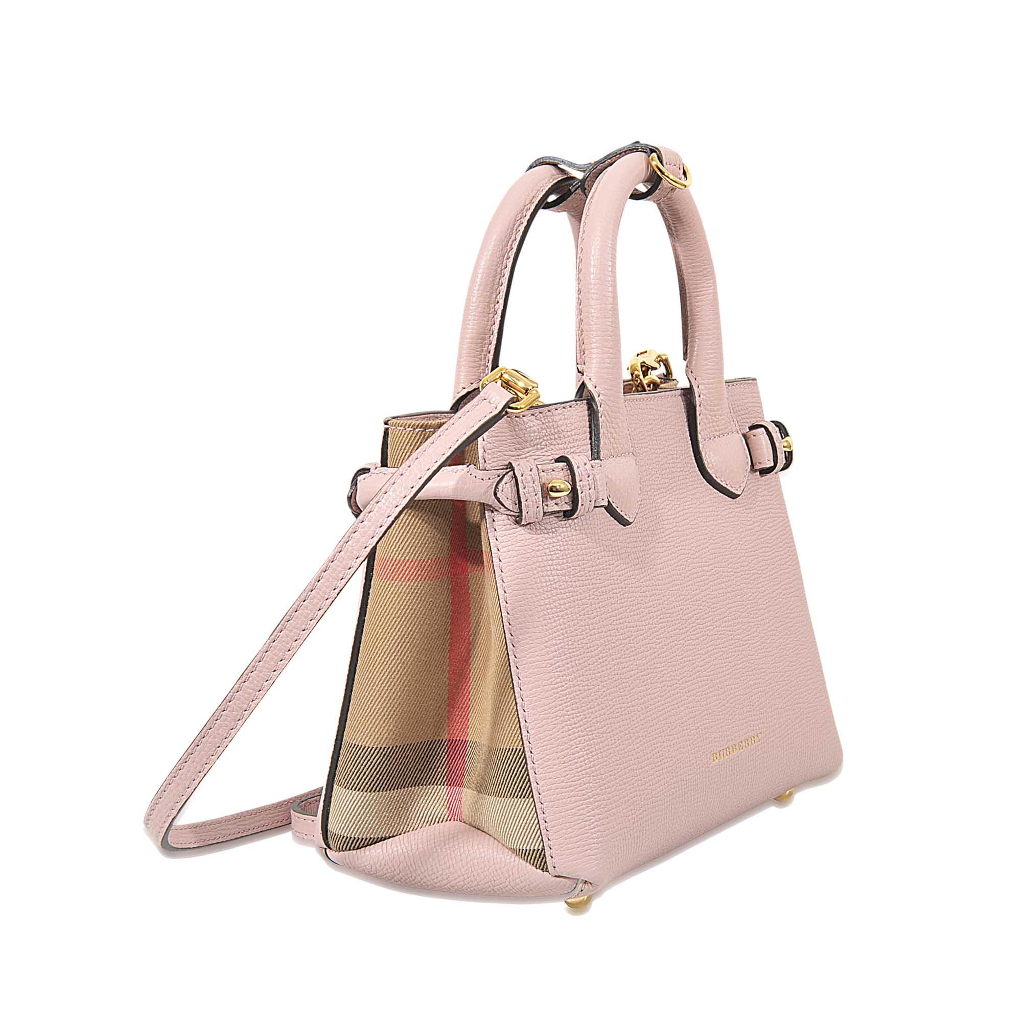 Burberry Pink Handbag - HandBags 2018