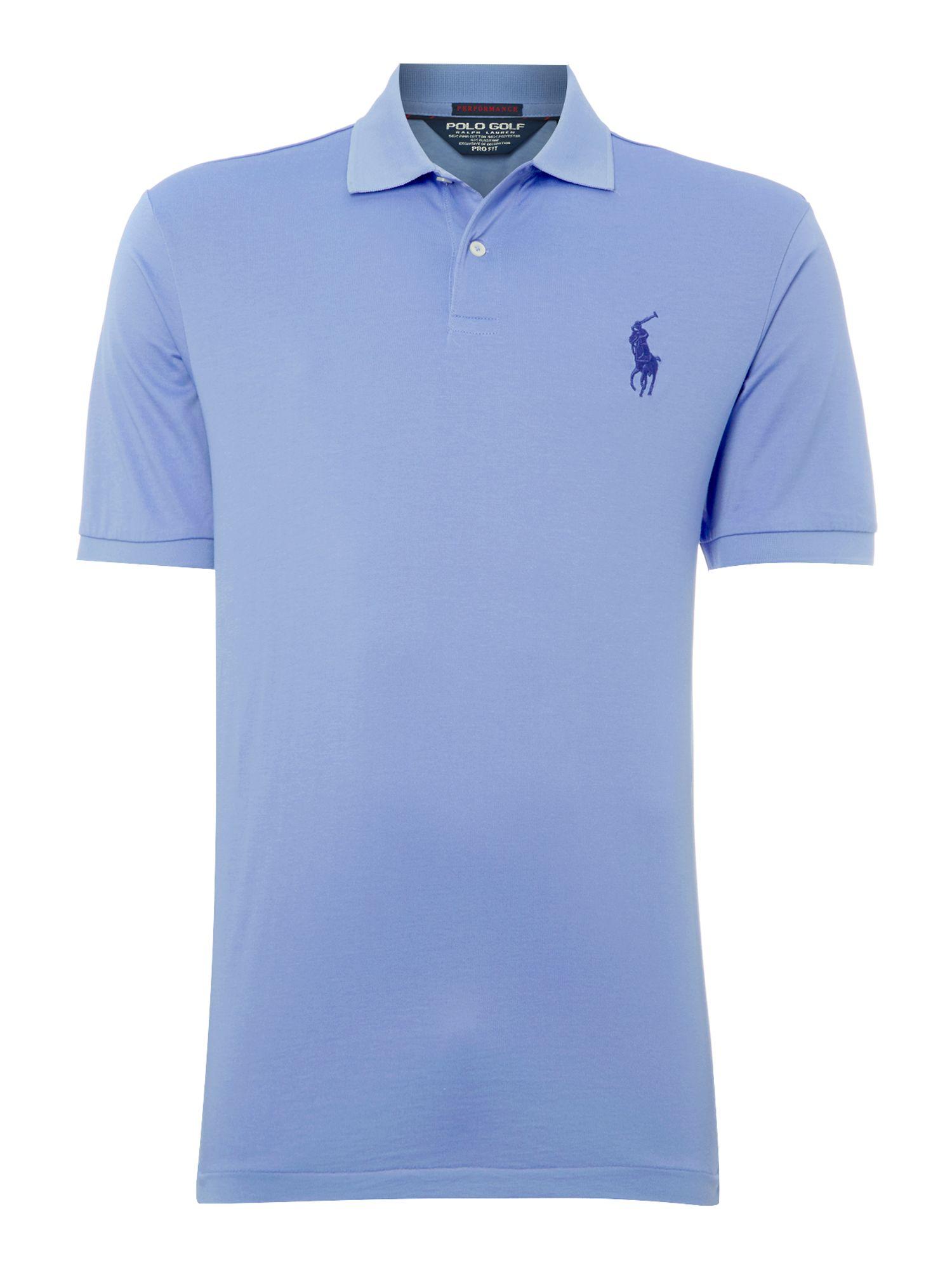Ralph lauren golf moisture wicking pro fit polo shirt in for Moisture wicking golf shirts