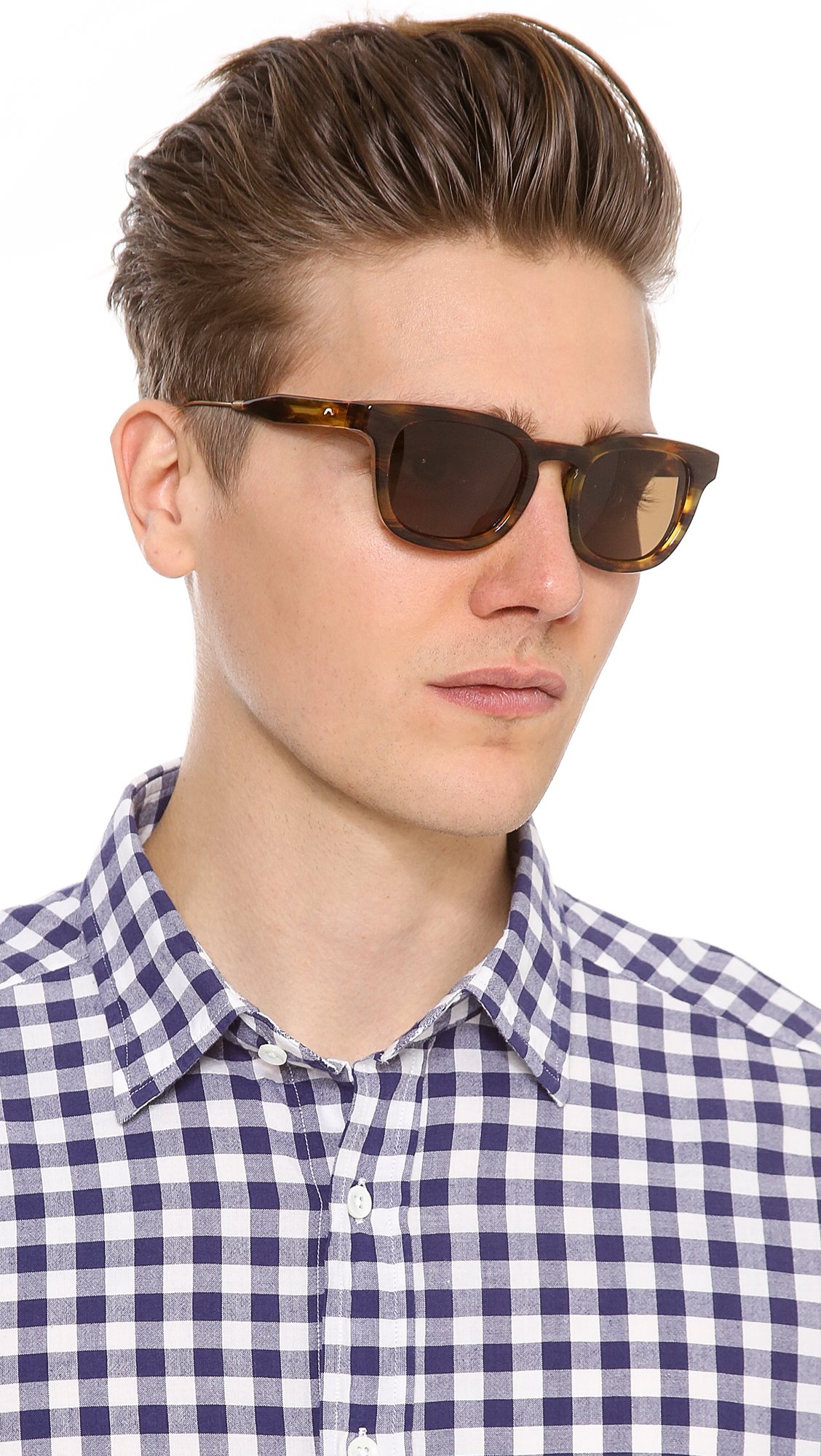 c95ade1baa Lyst - Oliver Peoples Cabrillo Sunglasses in Brown for Men