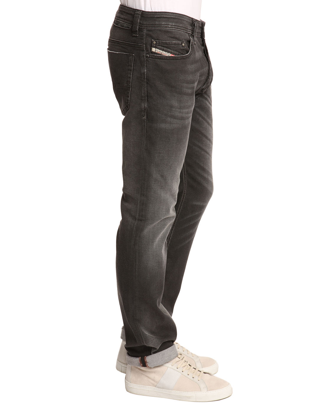 Mens Black Faded Jeans Ye Jean
