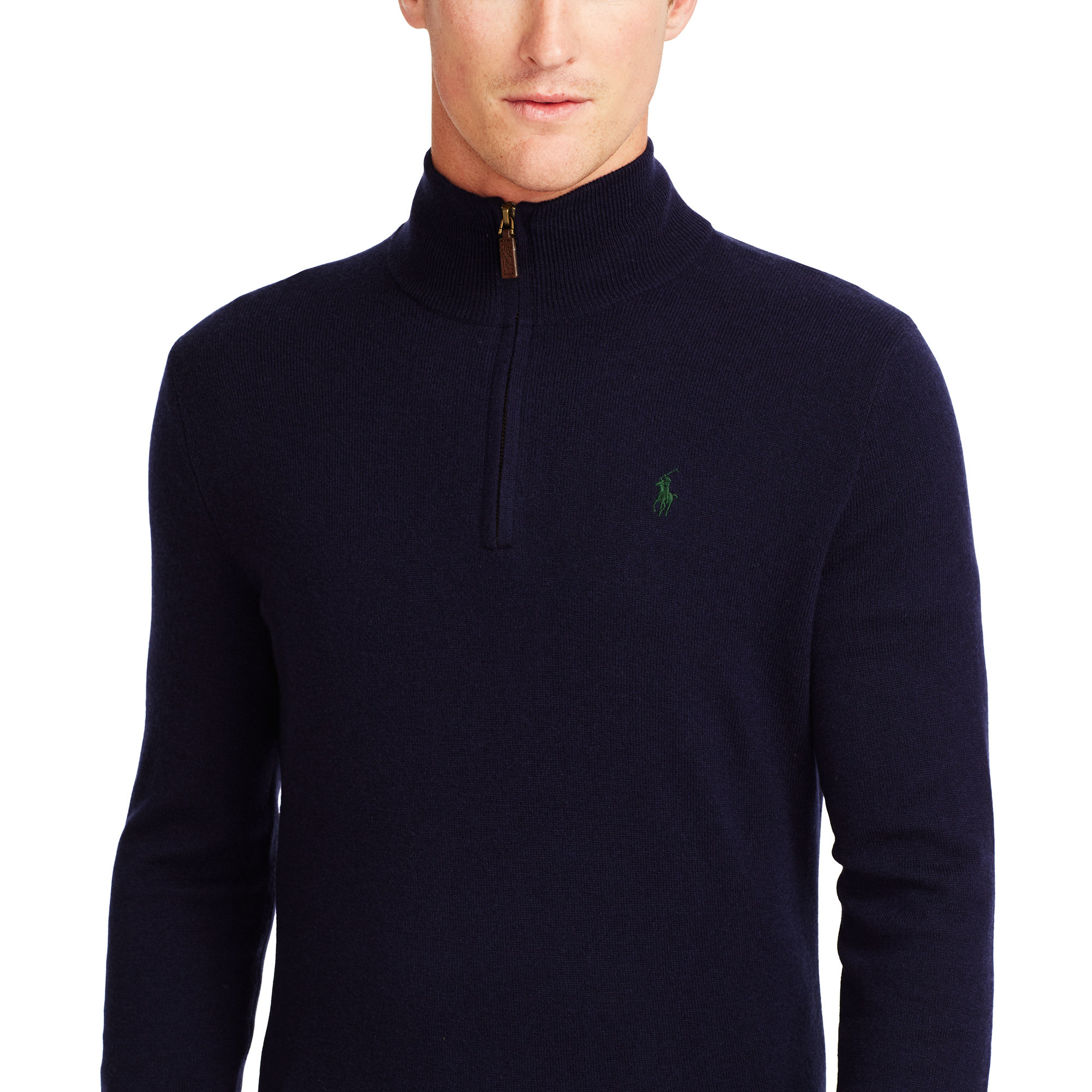 cecd10b61 shopping ralph lauren half zip merino wool sweater 50f71 d702e