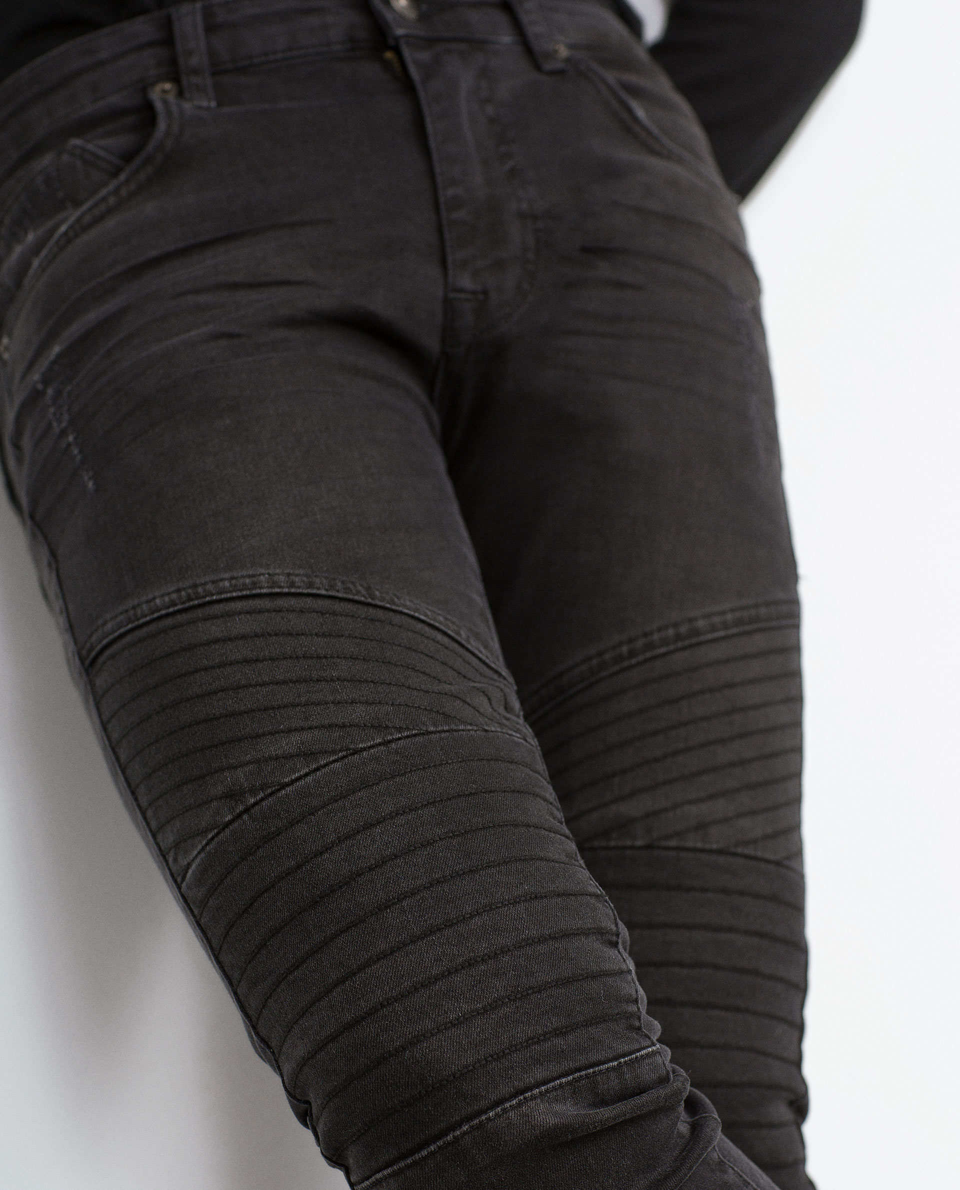 Waxed Jeans For Men