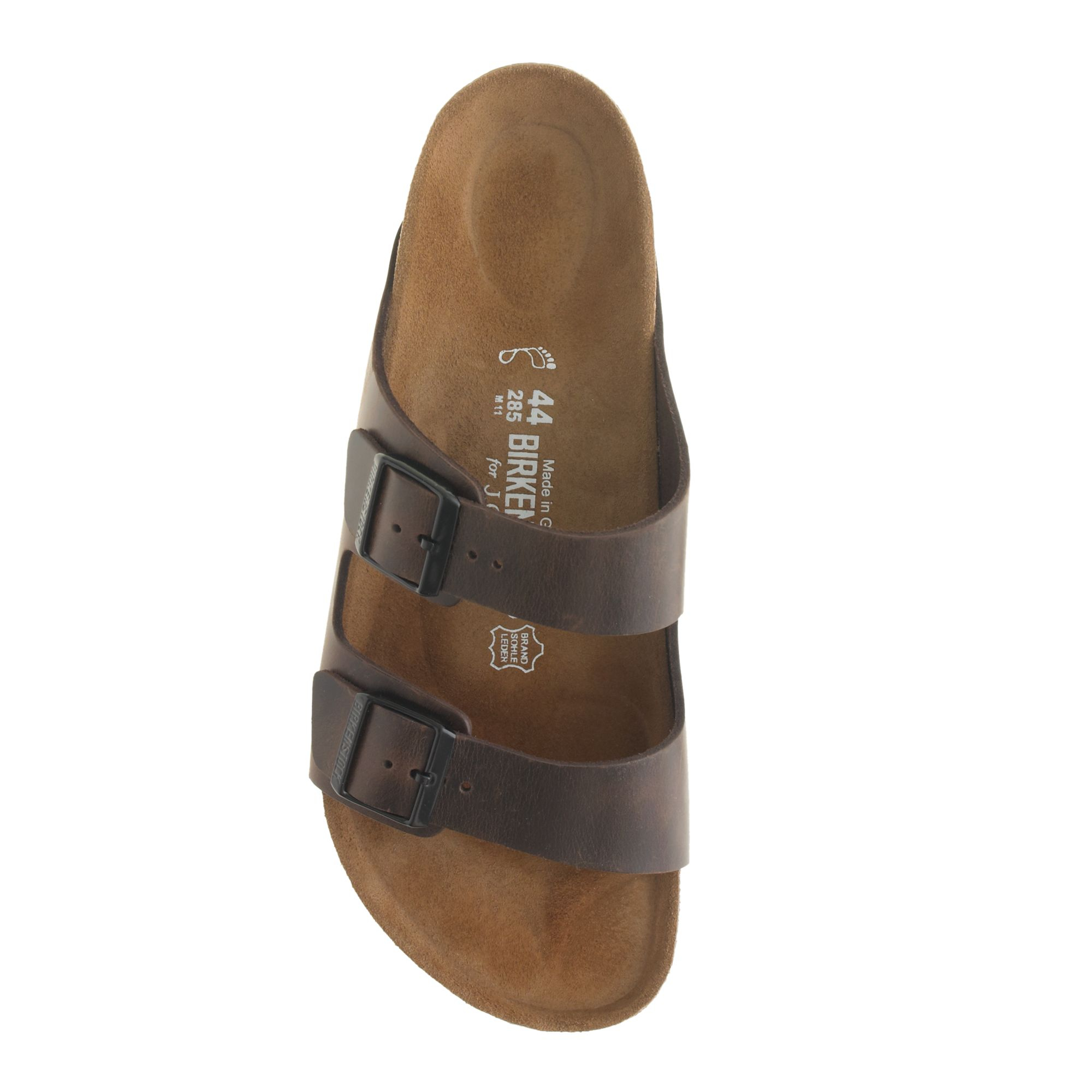 Birkenstock Medina Sandals Unisex Fashion Leather Slippers (Brown)