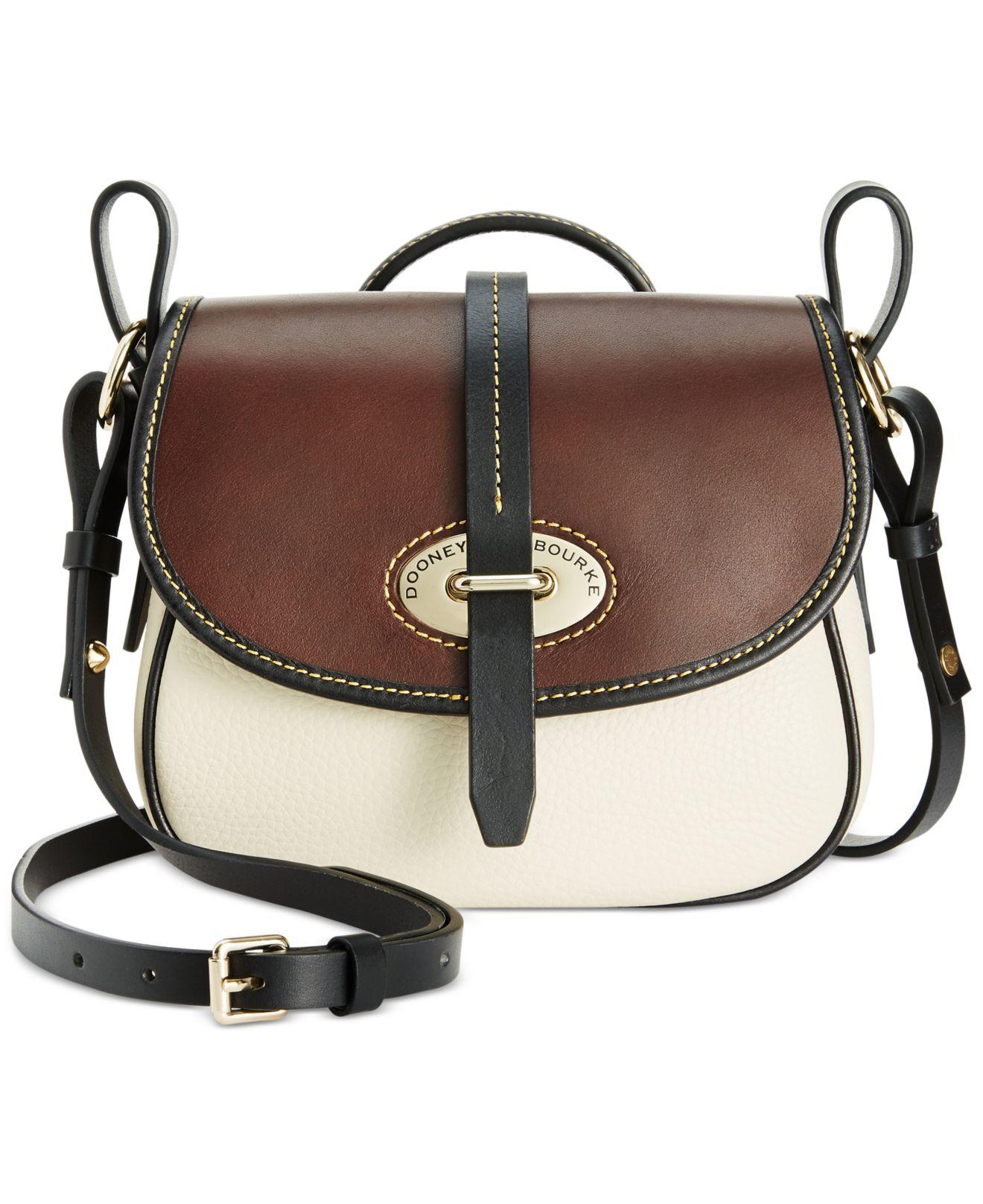 Lyst Dooney Bourke Verona Cristina Crossbody Bag In White