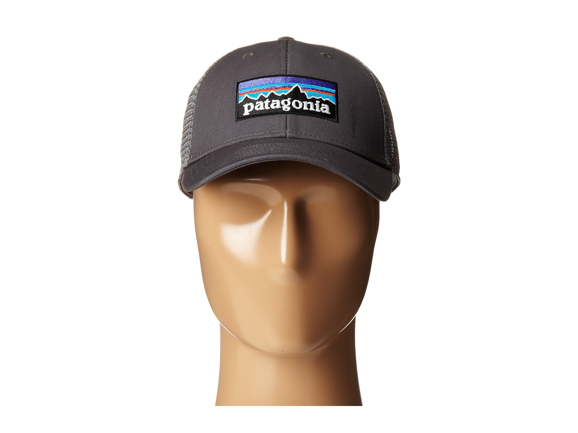 d0a85e4671992 Patagonia P6 Lopro Trucker Hat in Gray for Men - Lyst