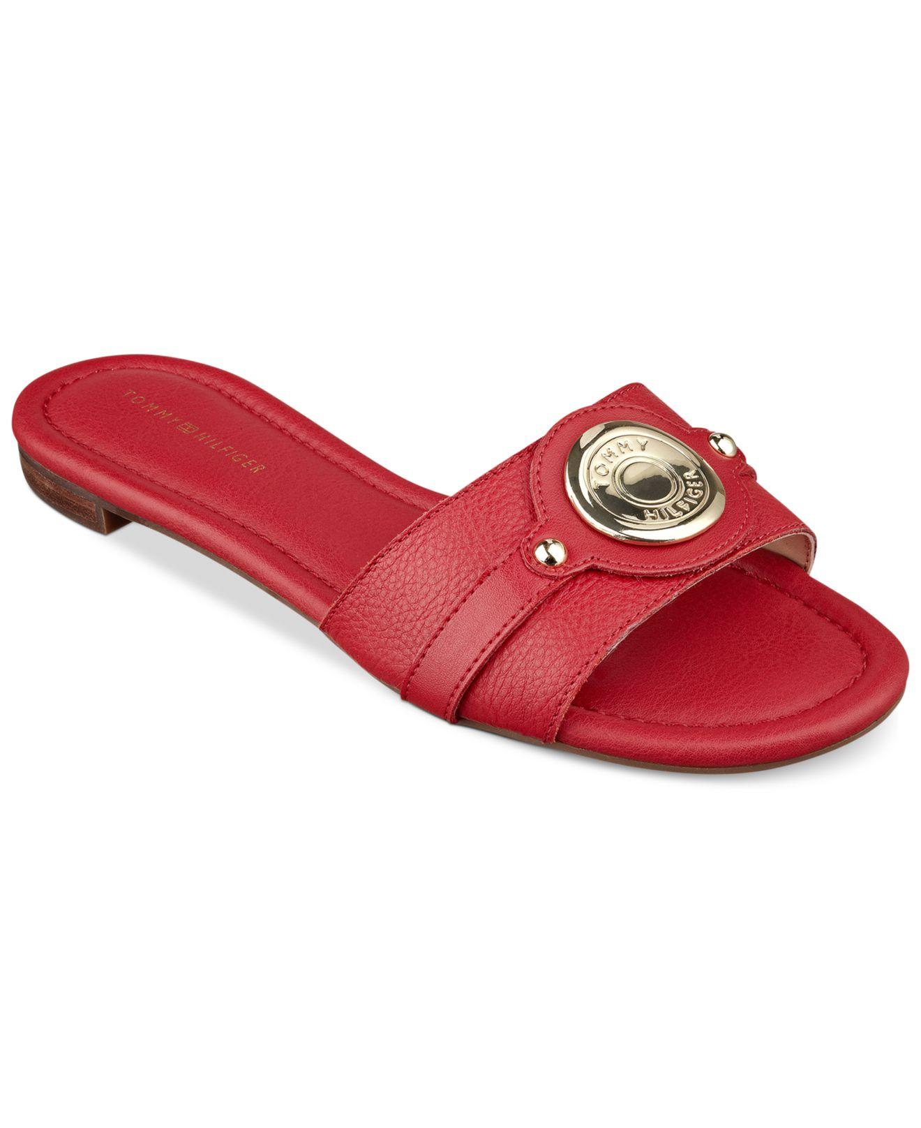 Excellent Tommy Hilfiger Women39s Ignacia Platform Wedge Sandals In Black  Lyst