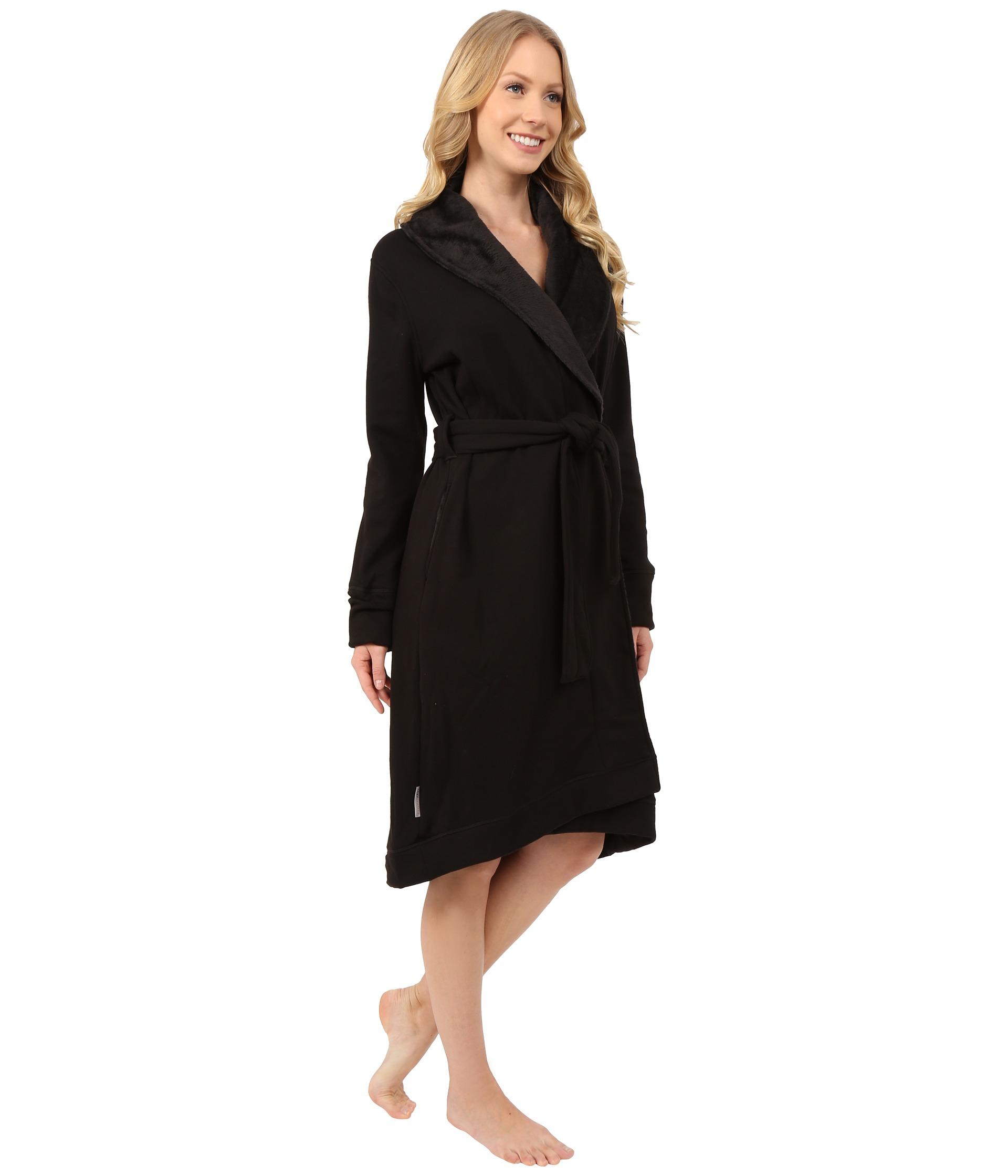 Lyst - UGG Allinda Robe in Black 09e849c9b