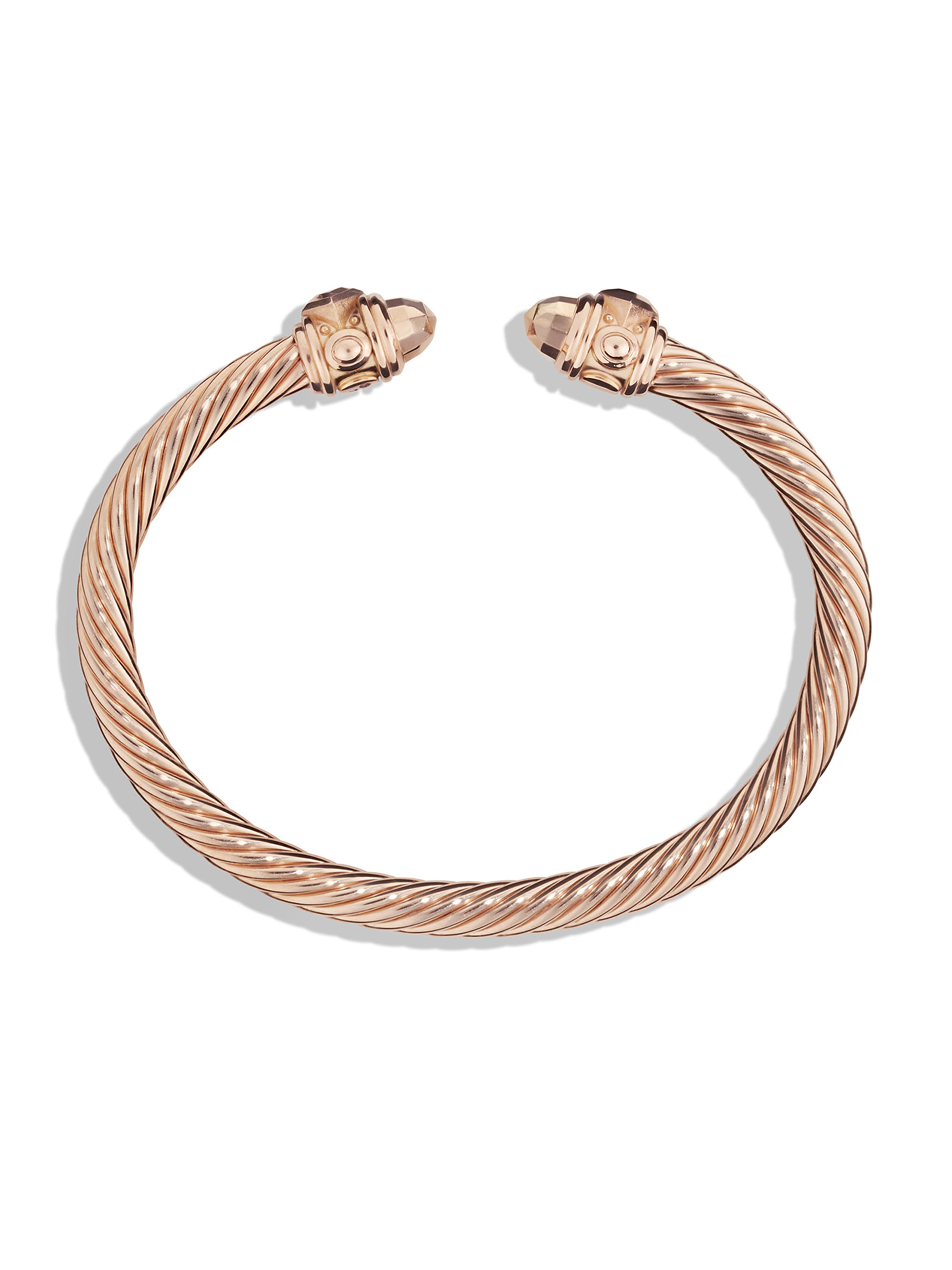 David yurman renaissance bracelet in 18k rose gold in pink for David yurman like bracelets