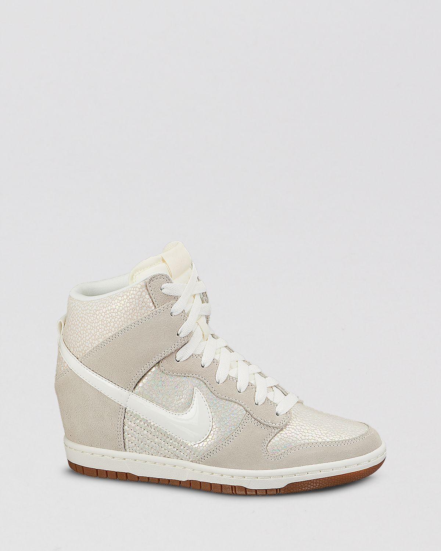 5d34d0d68c2b Gallery. Previously sold at  Bloomingdale s · Women s Wedge Sneakers  Women s Nike Dunk Women s Nike Dunk Sky Hi ...