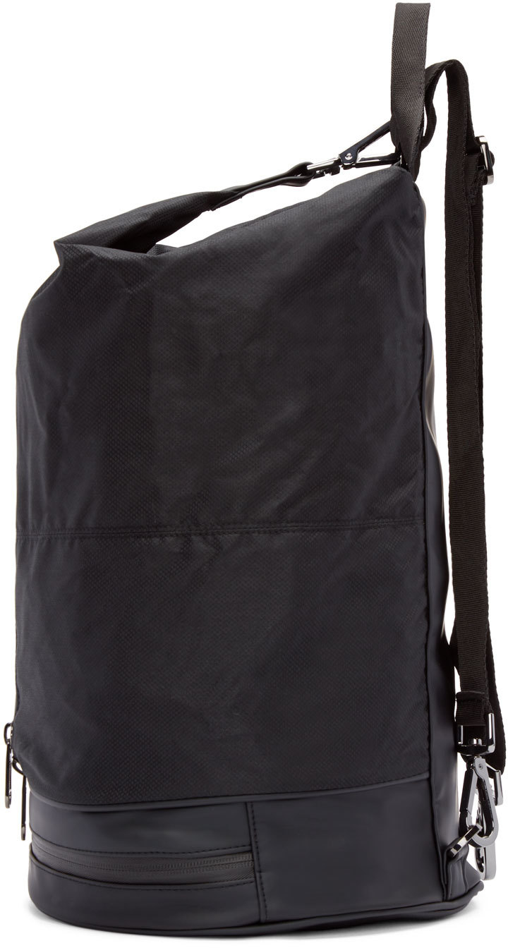 12aa49195465 Lyst - adidas By Stella McCartney Black Nylon Gymbag 5 Backpack in Black