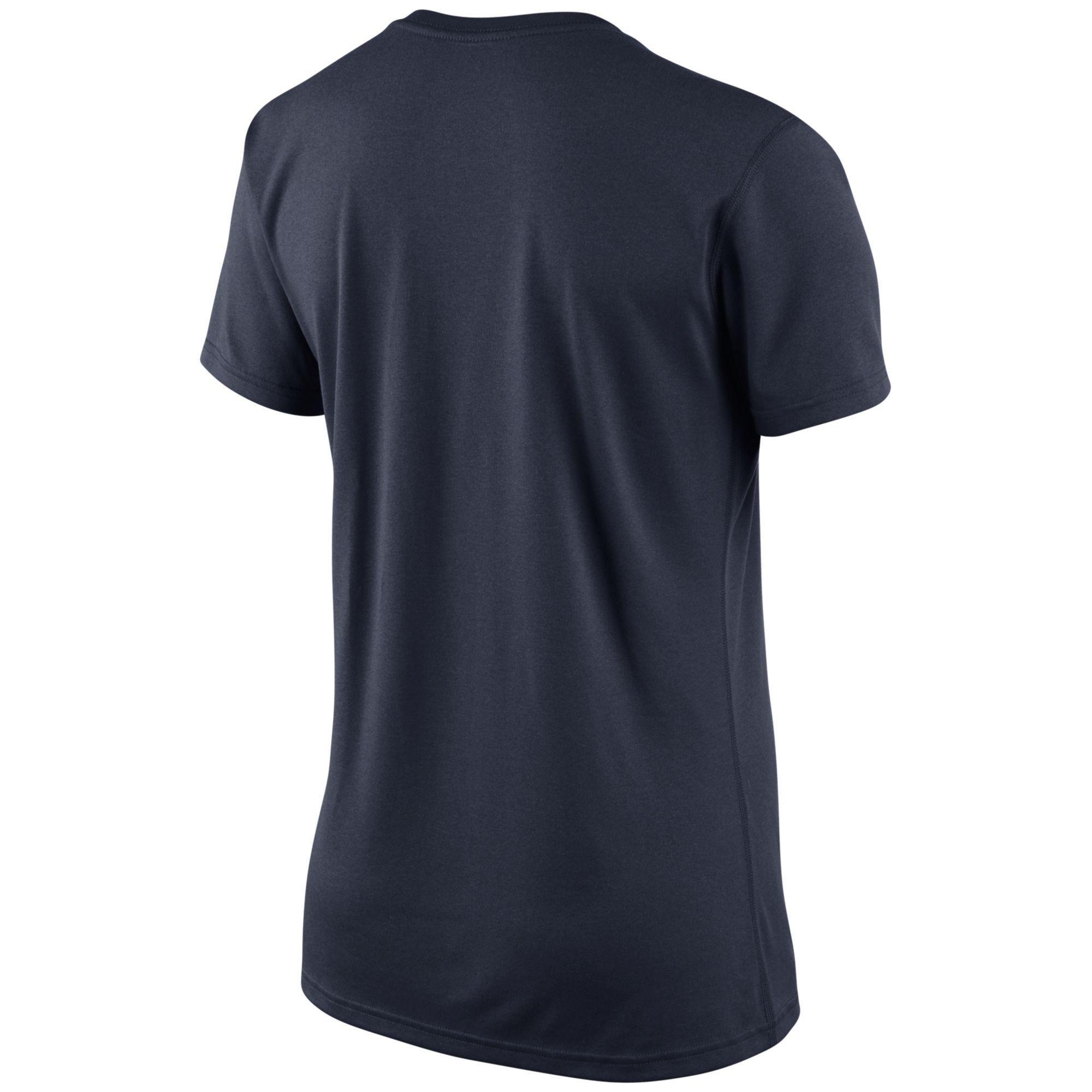 Nike Women's Short-sleeve Chicago Bears V-neck T-shirt in ...