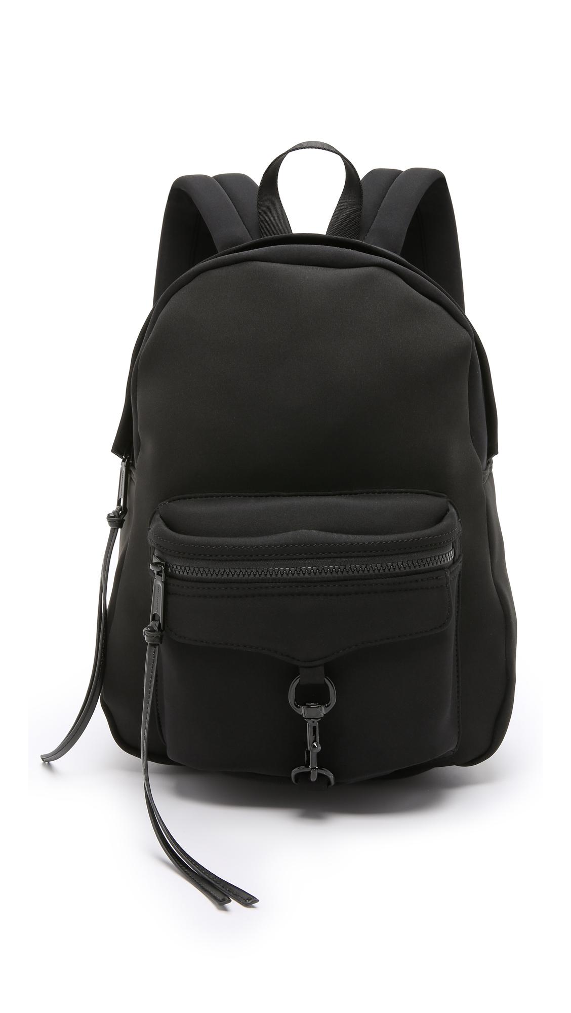 Rebecca minkoff Mab Neoprene Backpack in Black