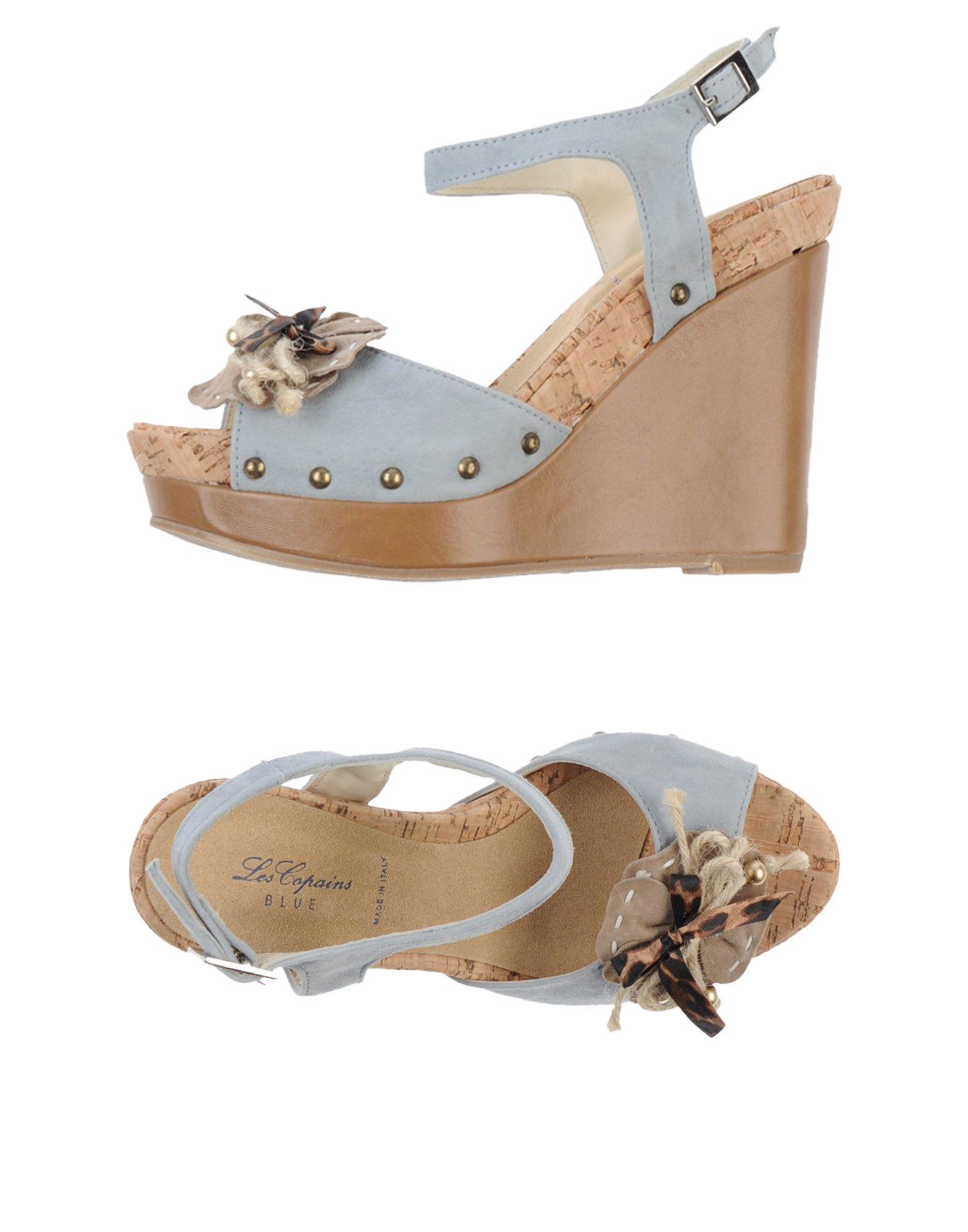 Chaussures - Sandales Bleues Les Copains r7dED8