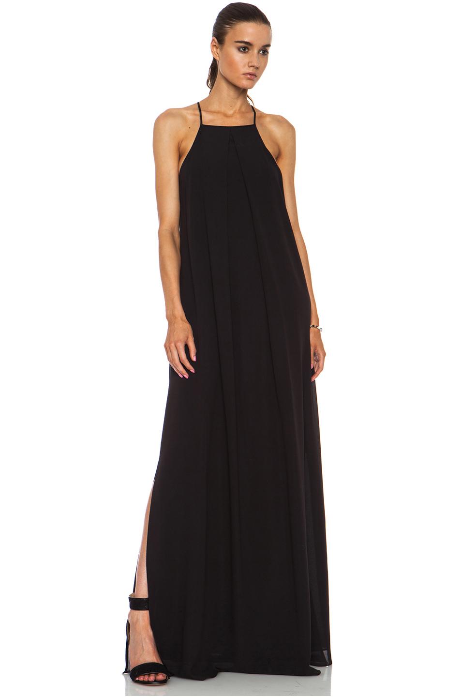 10 Crosby Derek Lam Maxi Dress With Back Detail In Black