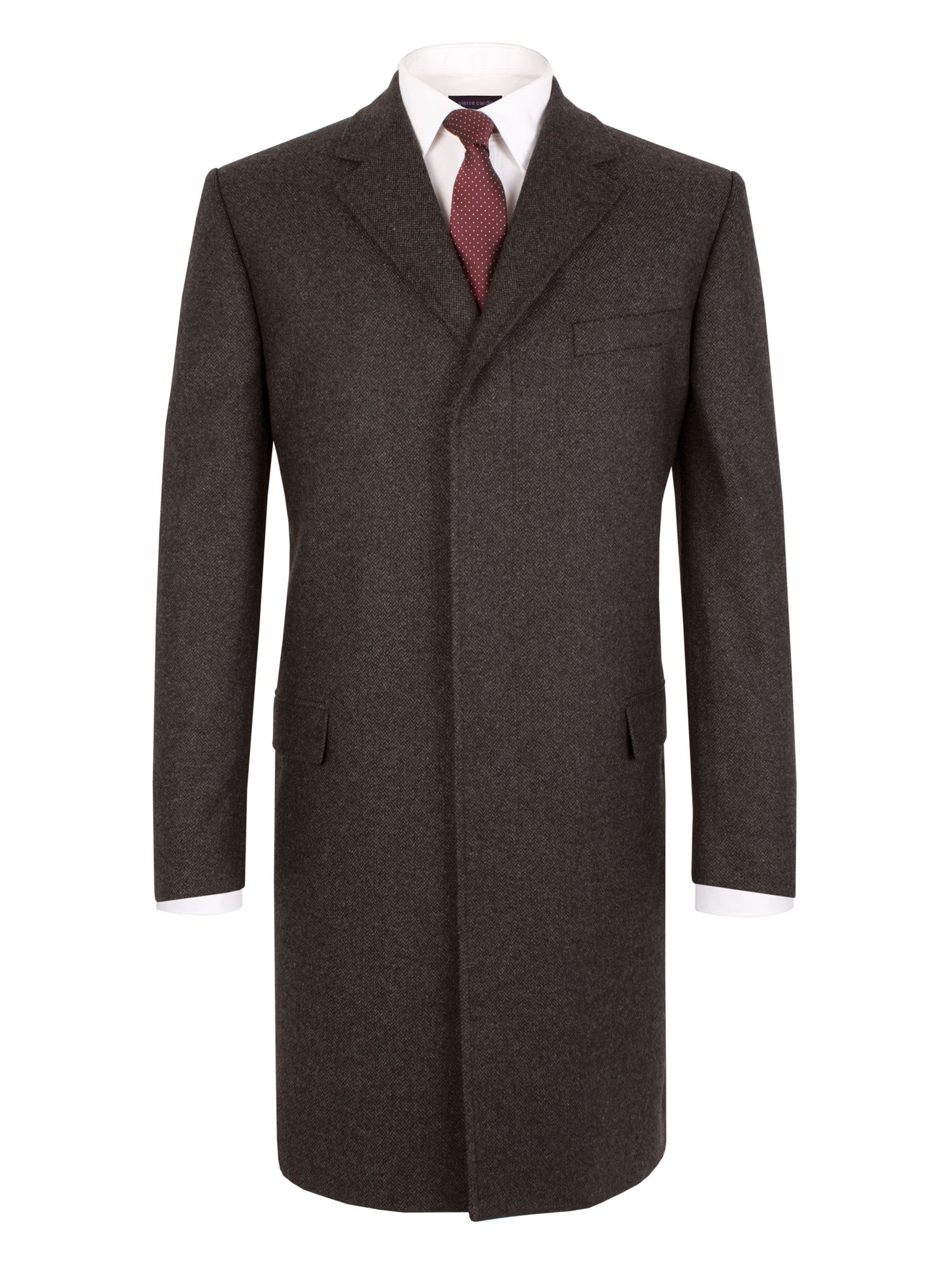 Overcoat buttons