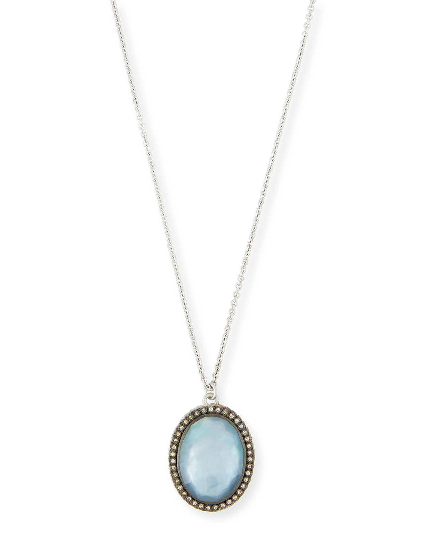 Armenta New World Doublet Pear Pendant Necklace yX68wTc3d