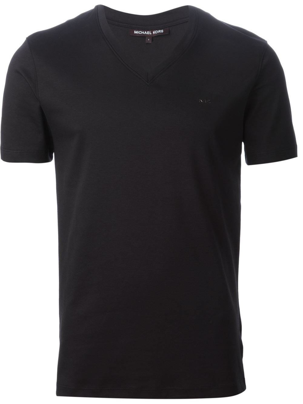 Michael kors V-Neck T-Shirt in Black for Men | Lyst