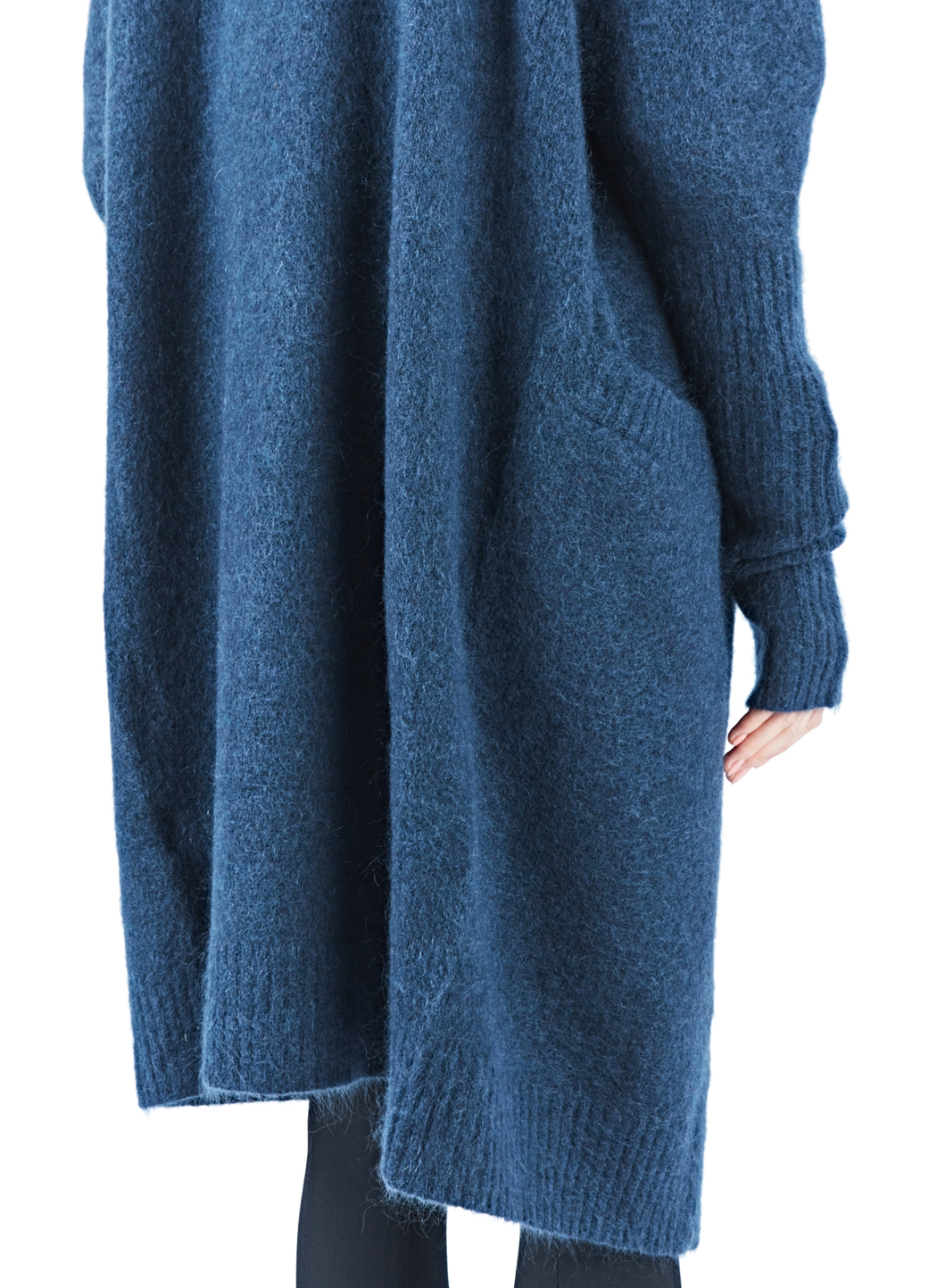 Brand new thick long mohair coat/ cardigan with buttons. Folded cuffs. Great collar! Your everyday outwear! Materials: Soft premium quality longhair mohair.